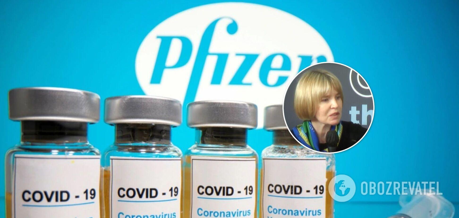 В Pfizer пояснили, почему еще не подписано соглашение с Украиной о вакцине