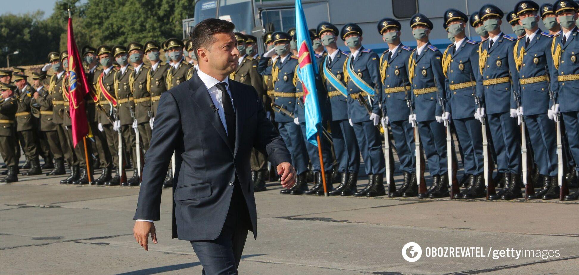 Зеленський визначив військові посади, на які буде призначати особисто