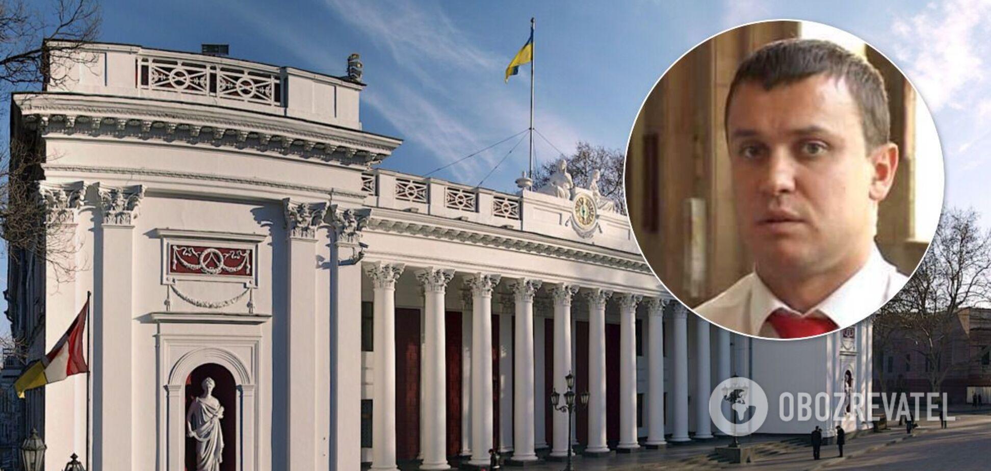Кисловський 'обмовився' на сесії міськради Одеси