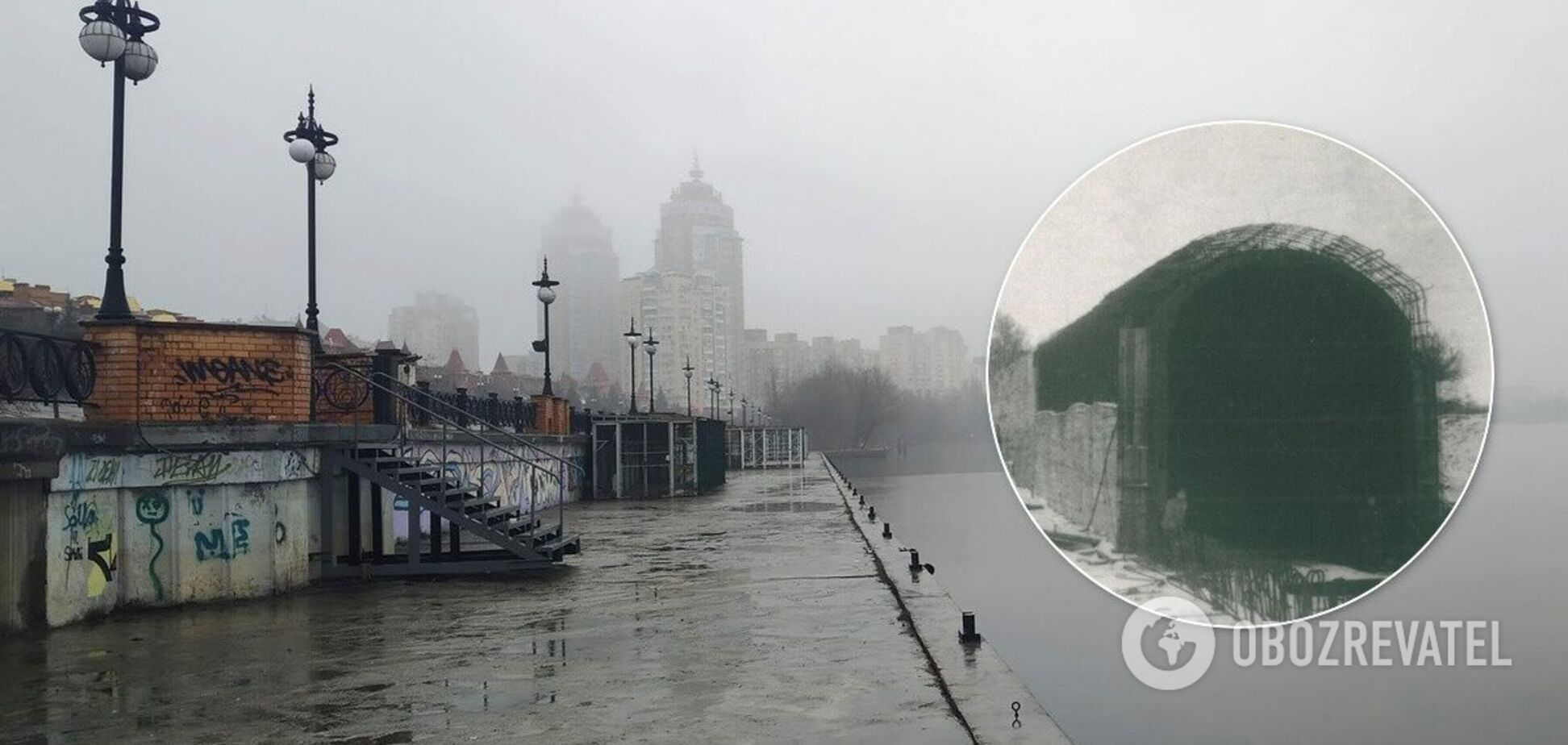 Тоннели строили в двух местах столицы Украины