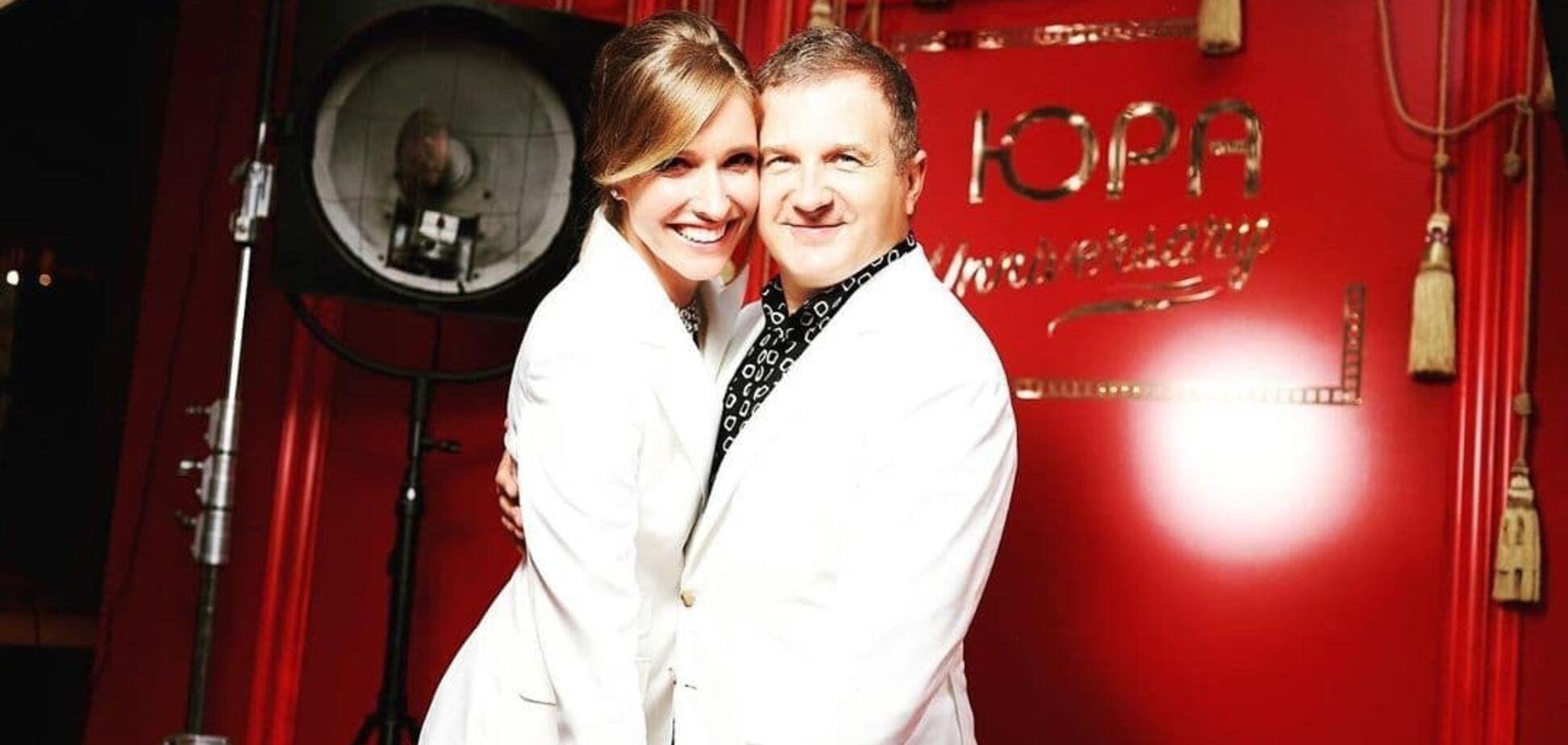 Катя Осадча та Юрій Горбунов святкують четверту річницю весілля