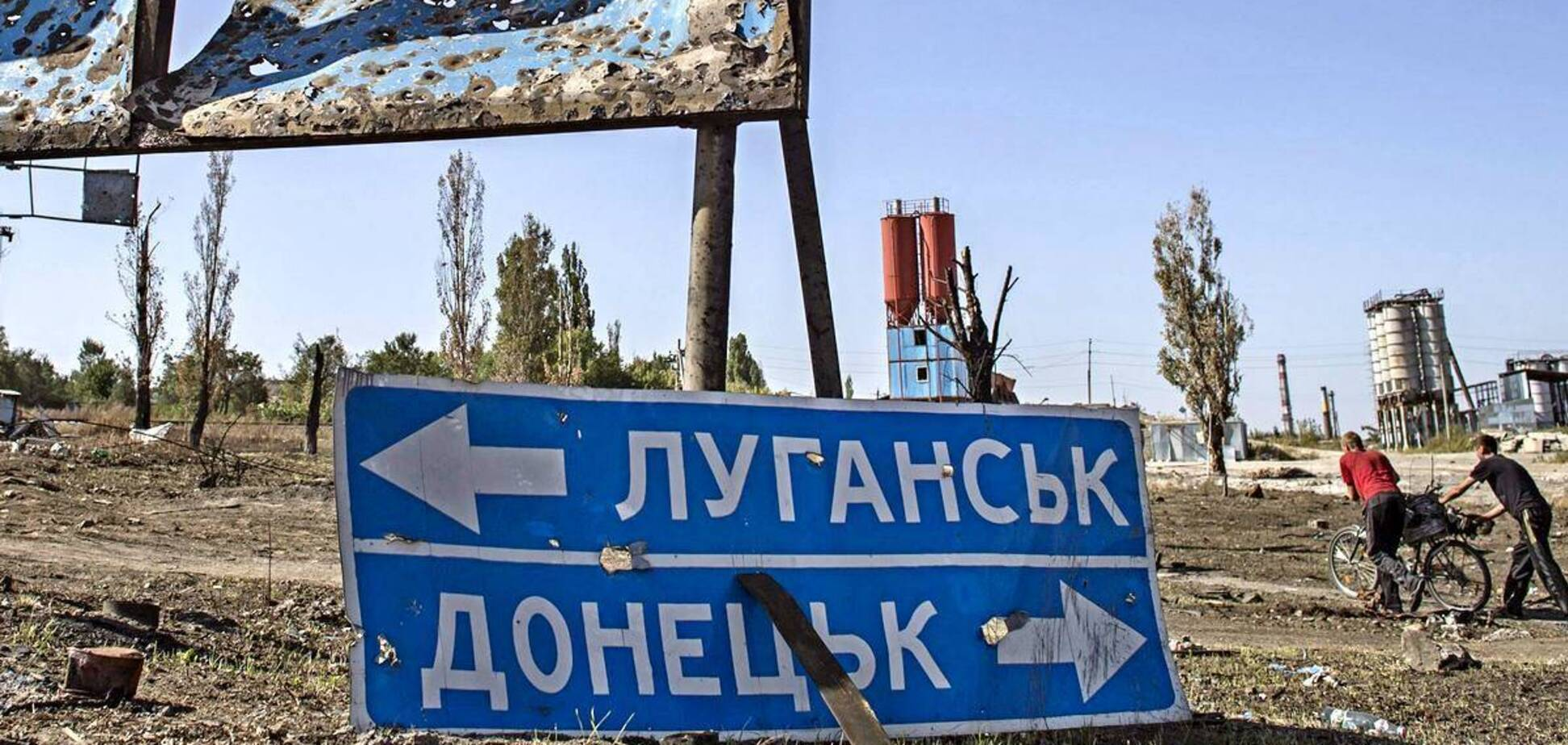 Спочатку півроку 'Слава Україні' в ОРДЛО, а потім вибори