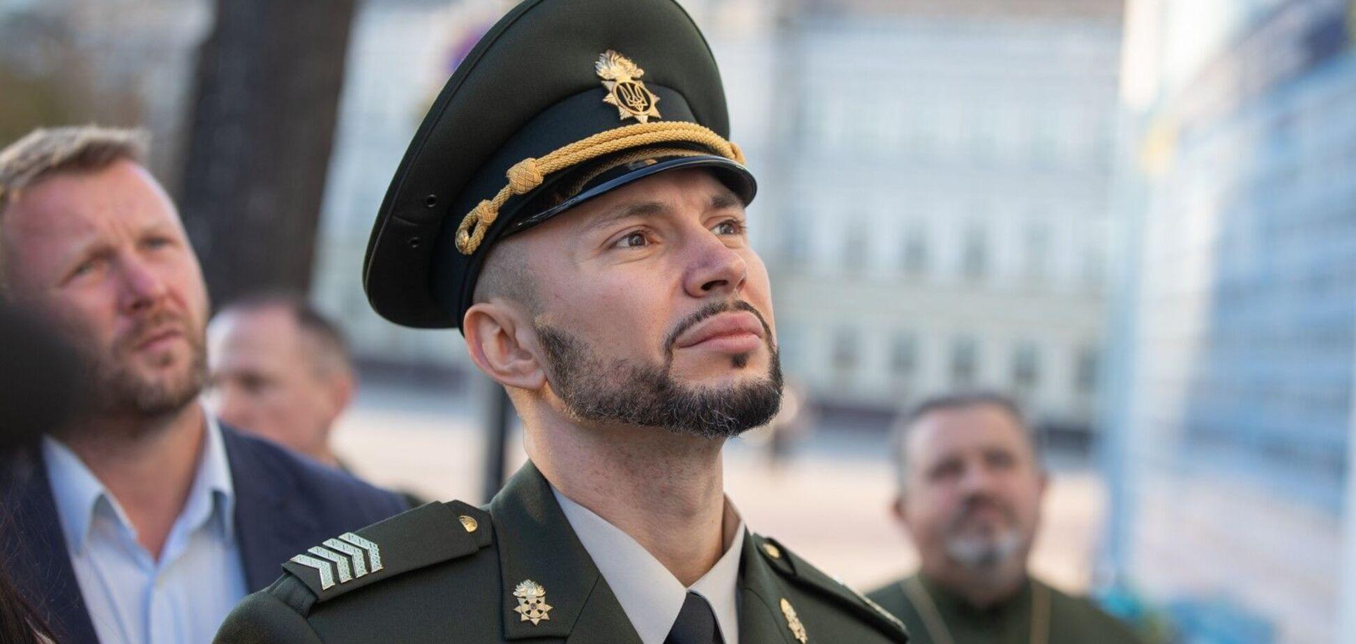 Воин НГУ Виталий Маркив