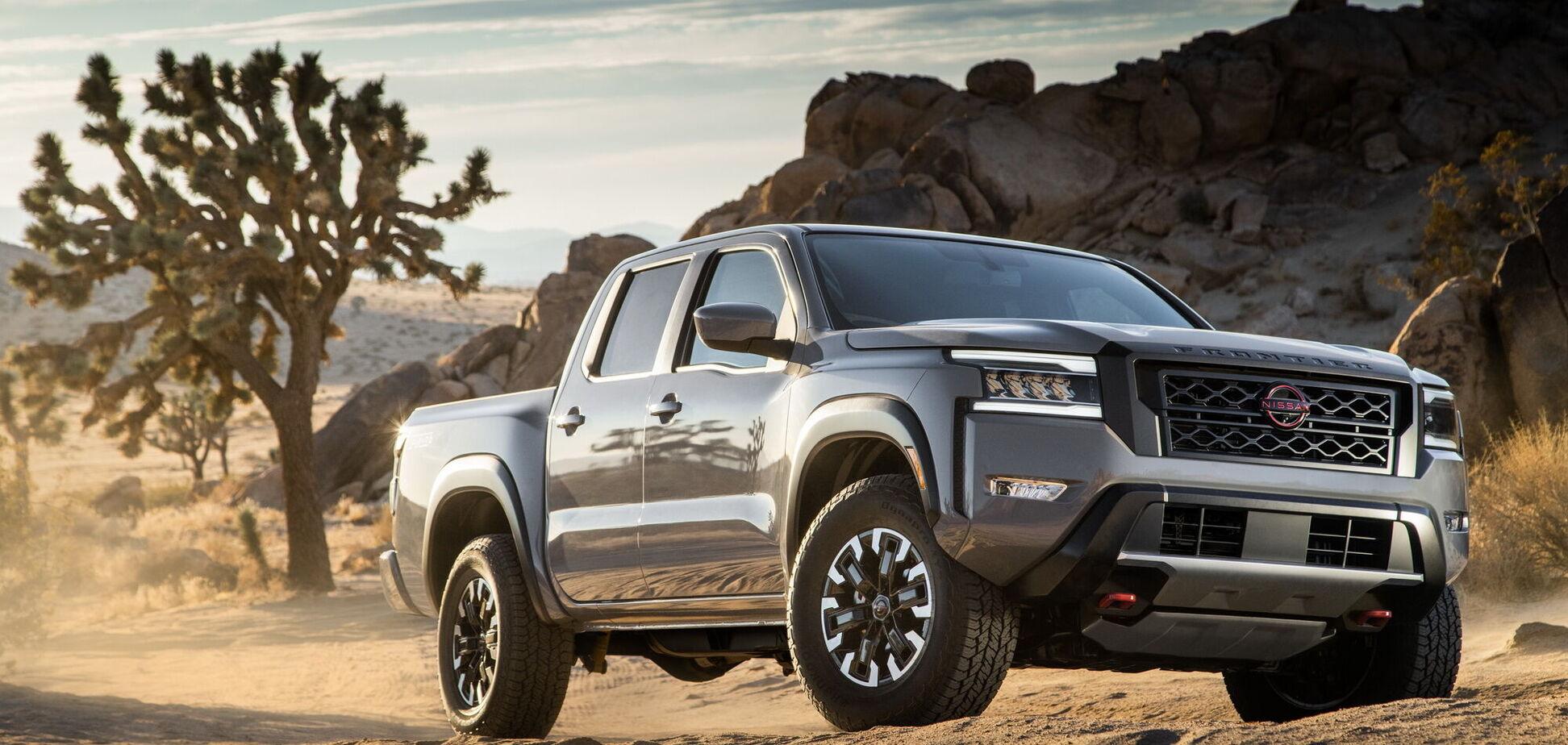 Nissan Frontier нового покоління дебютував у США
