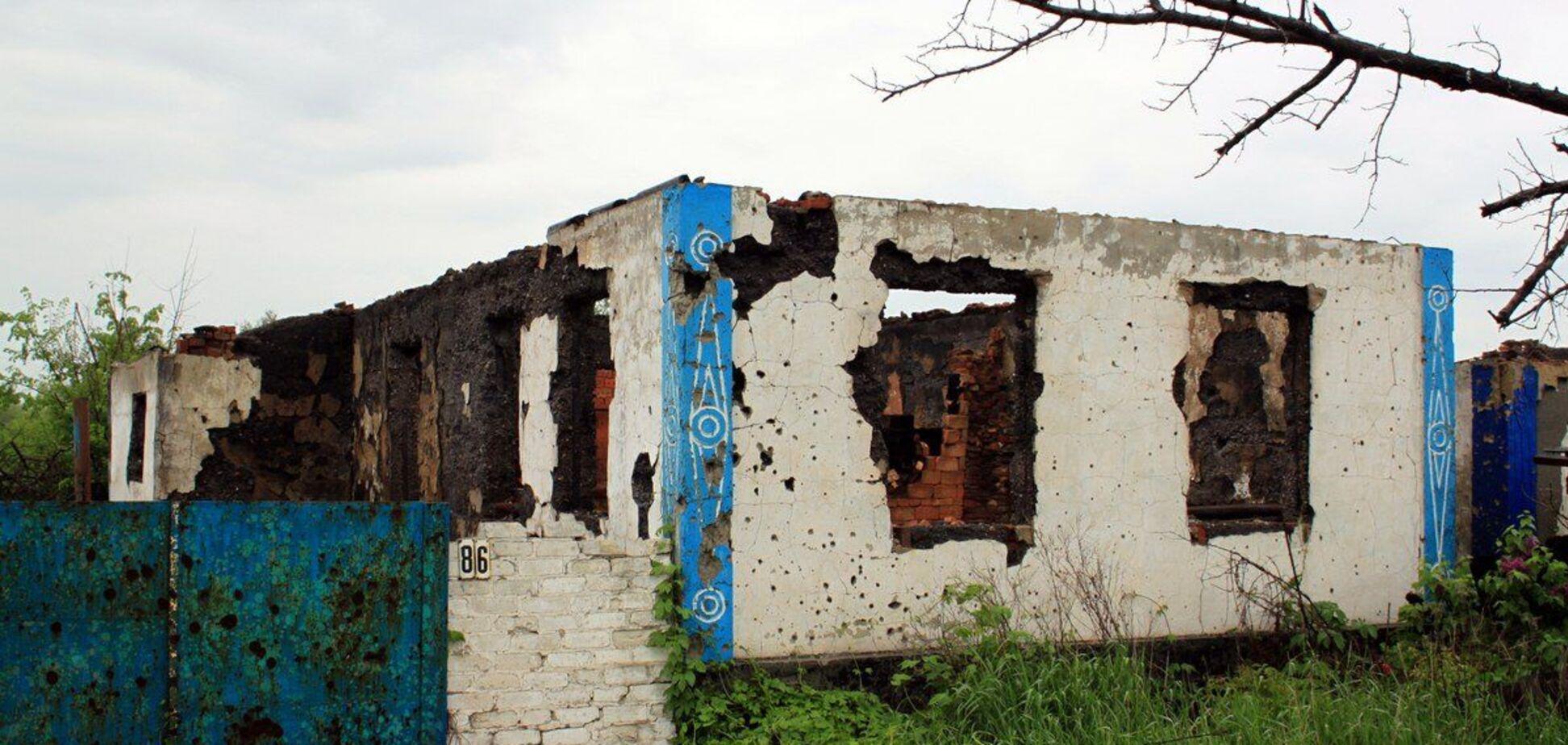 Офіцер ЗСУ опублікував показовий знімок 'руского міра' на Донбасі