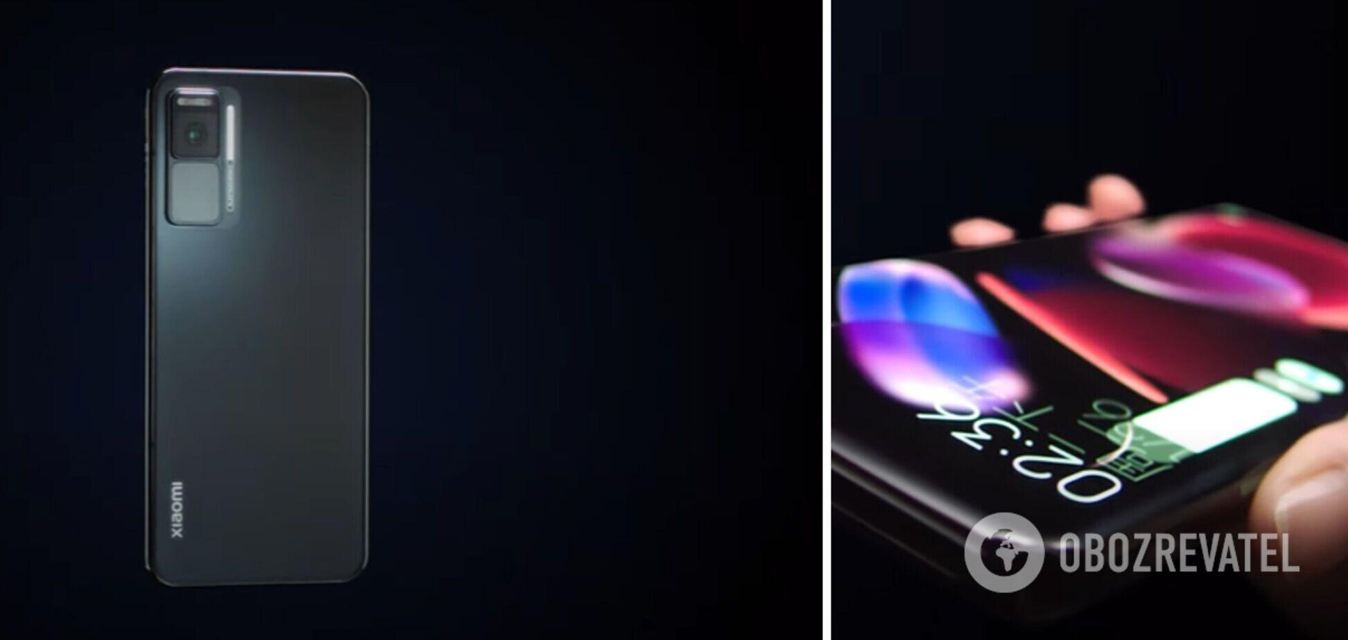 Показан безрамочный смартфон с 'бесконечным' экраном. Видео