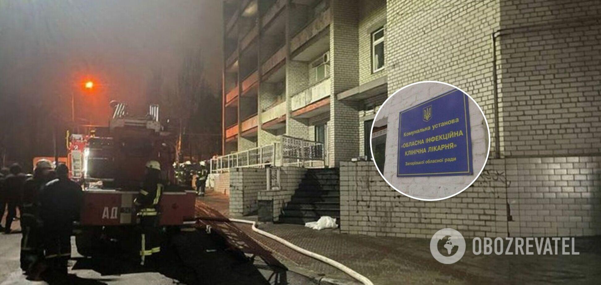 Двое пострадавших в результате пожара в больнице до сих пор в тяжелом состоянии
