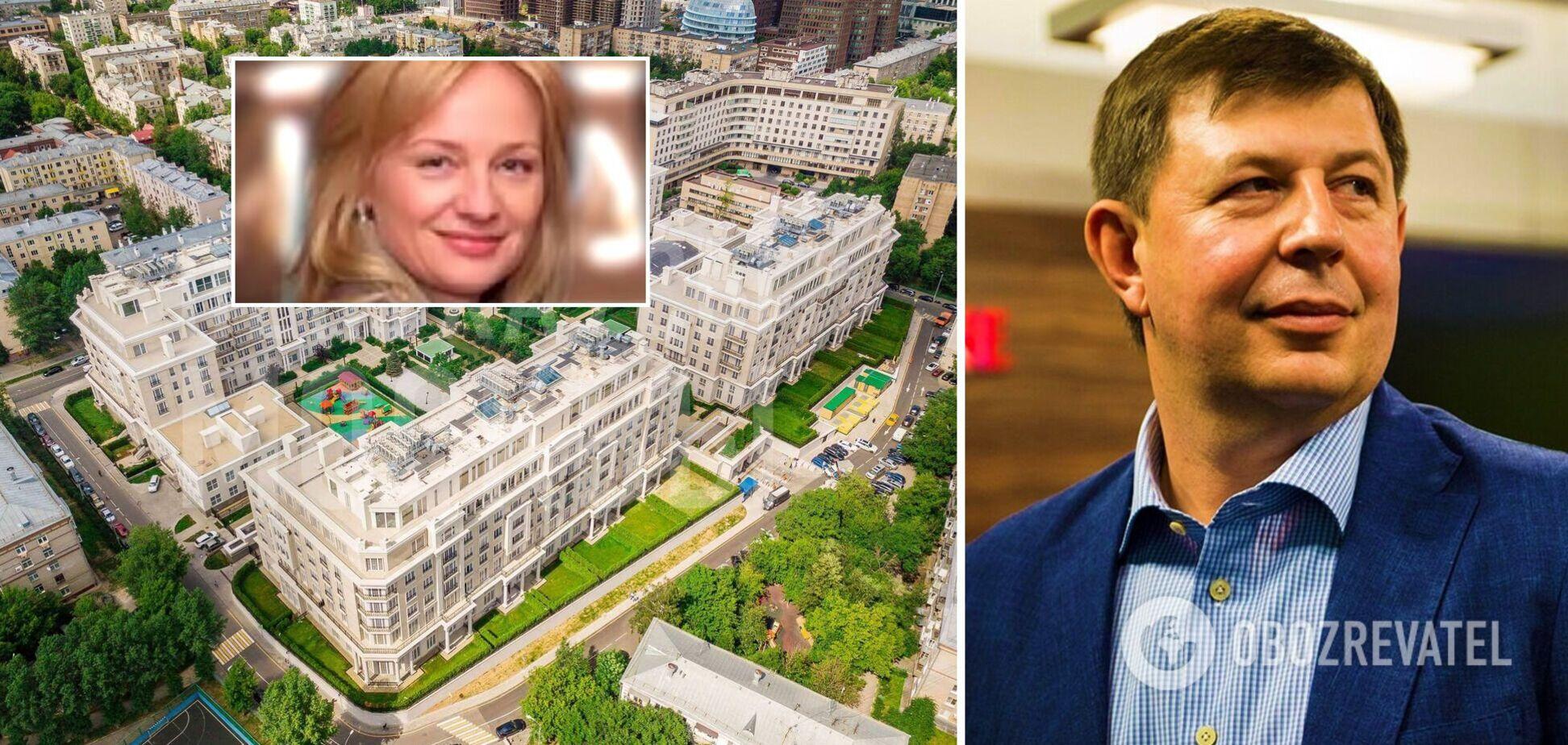 Журналисты нашли у гражданской жены подсанкционного Козака квартиру в Москве за $13 млн. Фото и видео