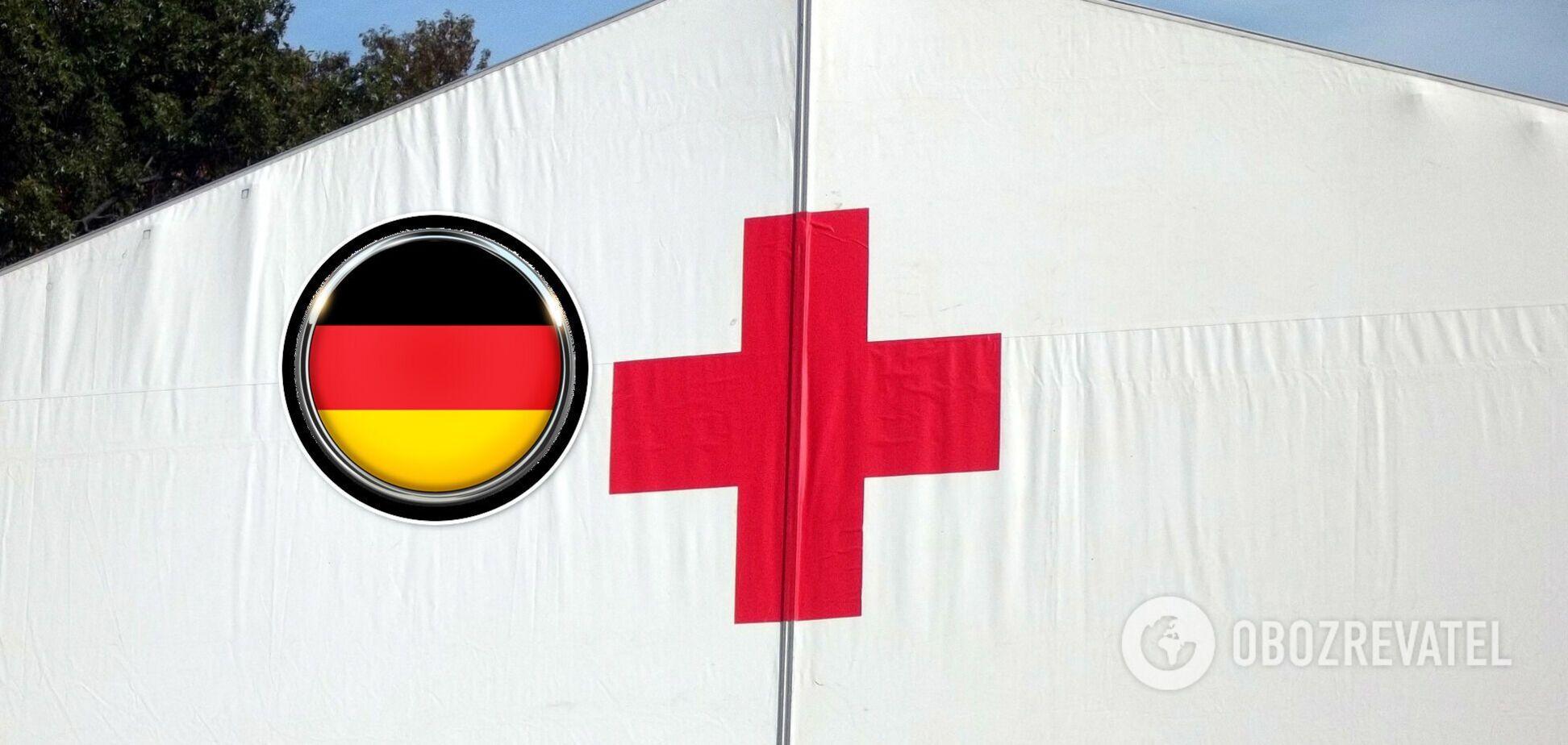 У Німеччині вибухнув склад Червоного Хреста