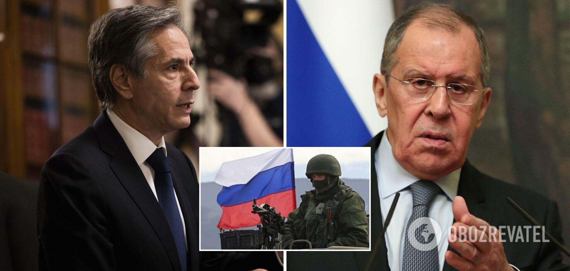 Глава Госдепа США напомнил Лаврову о российской агрессии в Украине