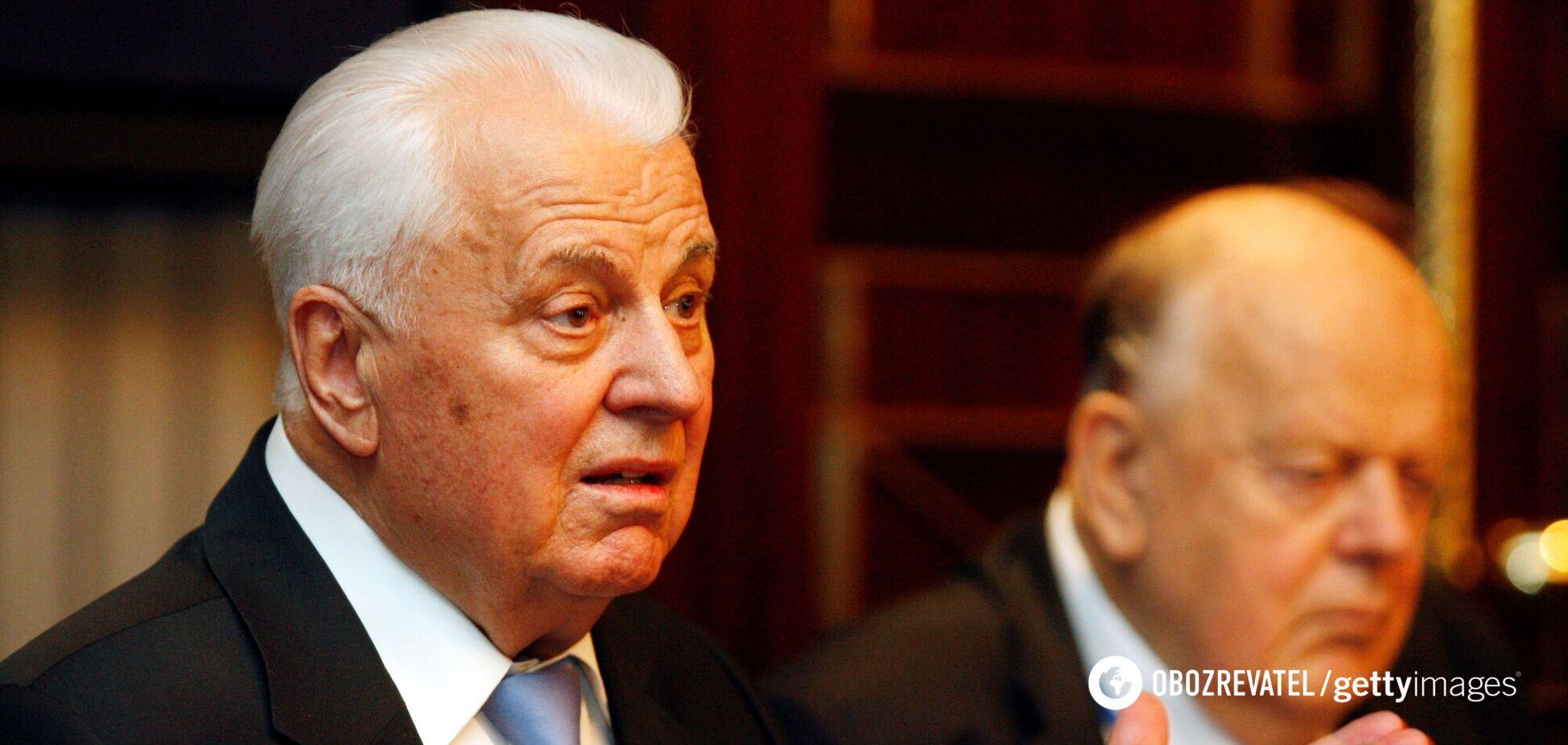 'Слуга' відповіла Кравчуку на його ідею про референдум щодо Криму та Донбасу