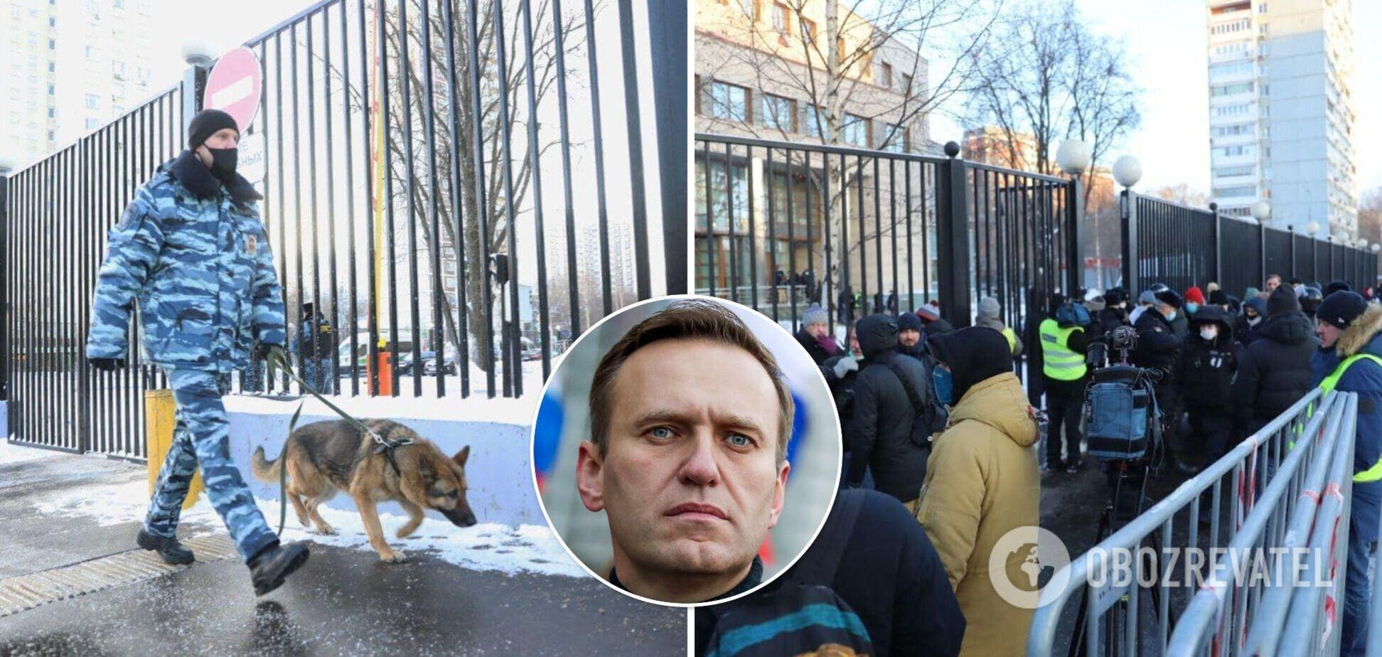 Суд над российским оппозиционером Навальным