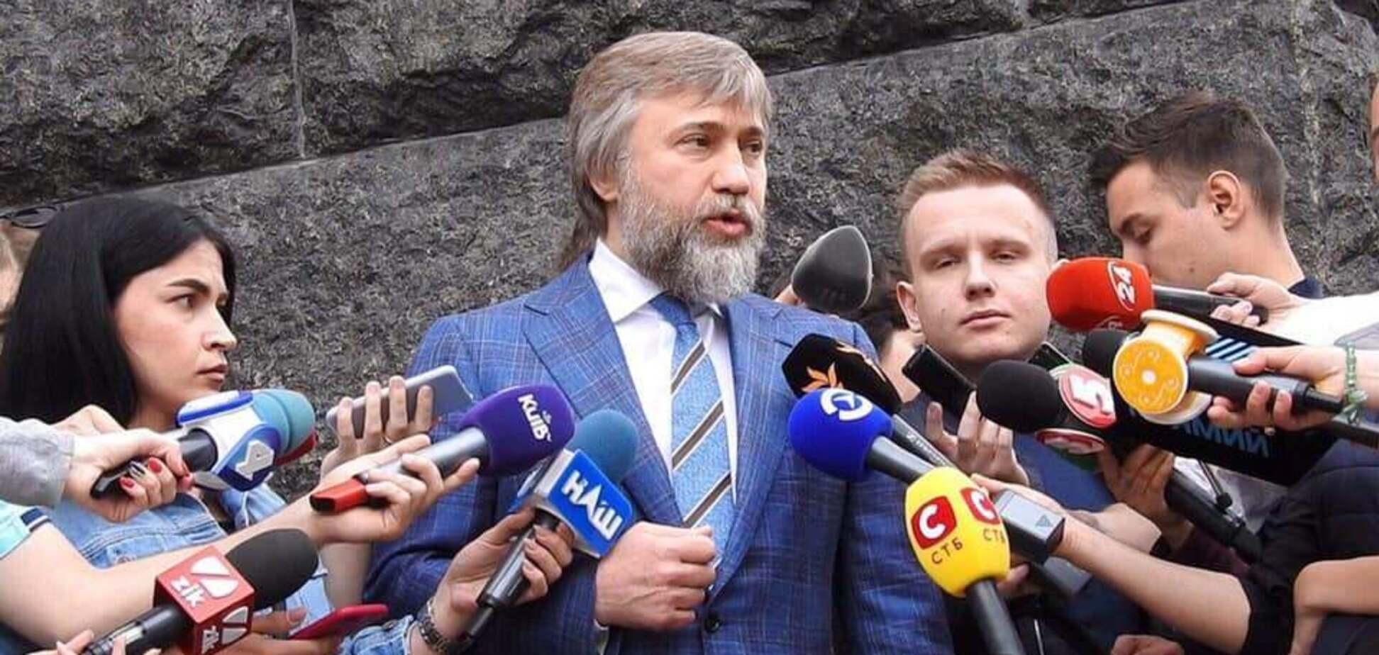 Новинский расценил закрытие каналов Медведчука как грубое нарушение свободы слова