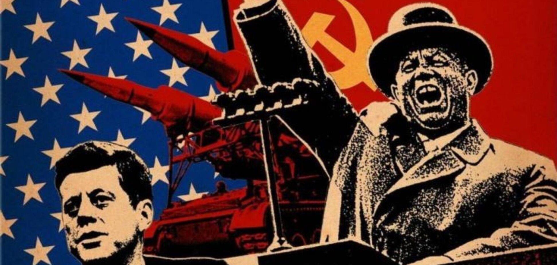 Холодна війна поміж США і Росією тривала в період з 1946 року до кінця 1980-х