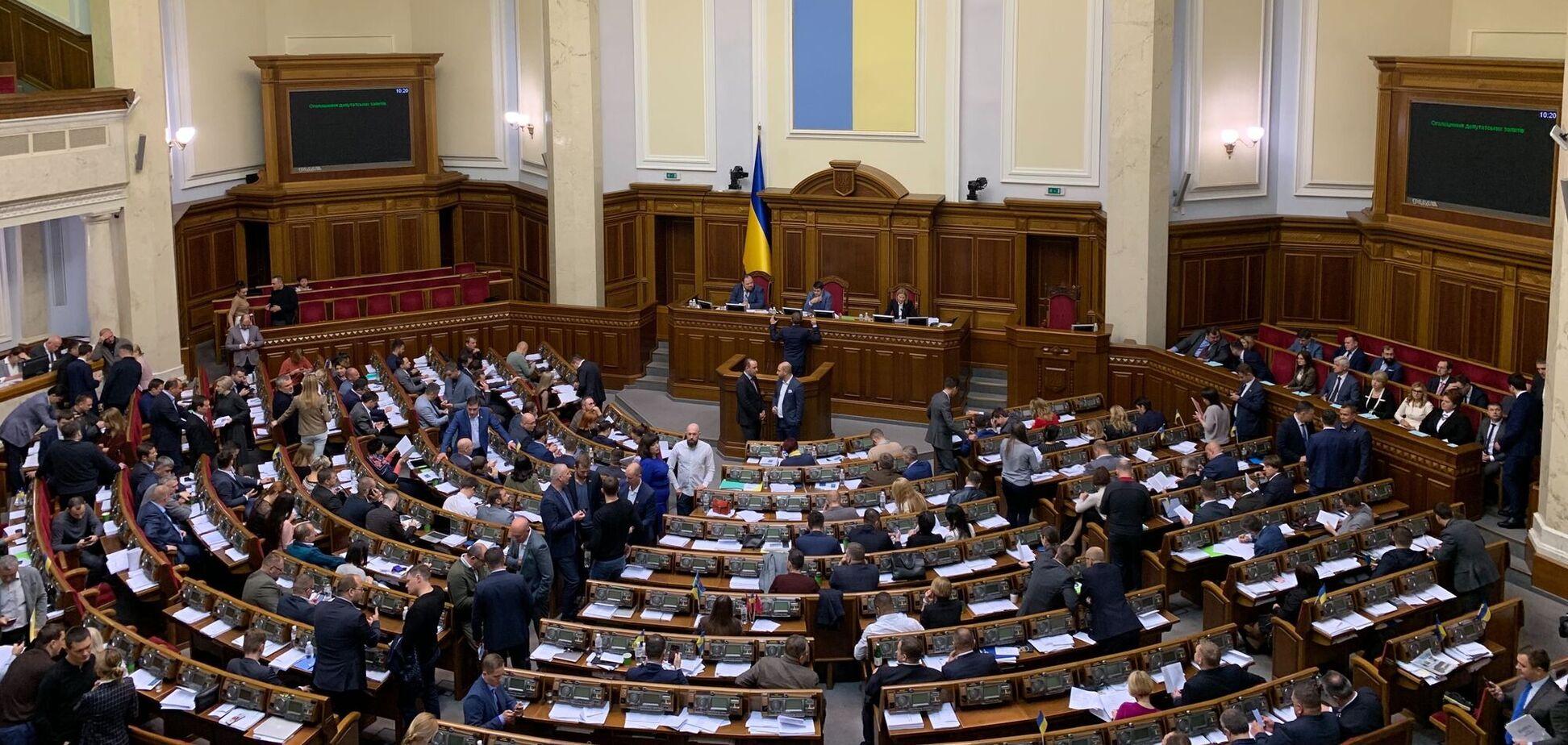 Названы главные прогульщики Рады среди депутатских групп