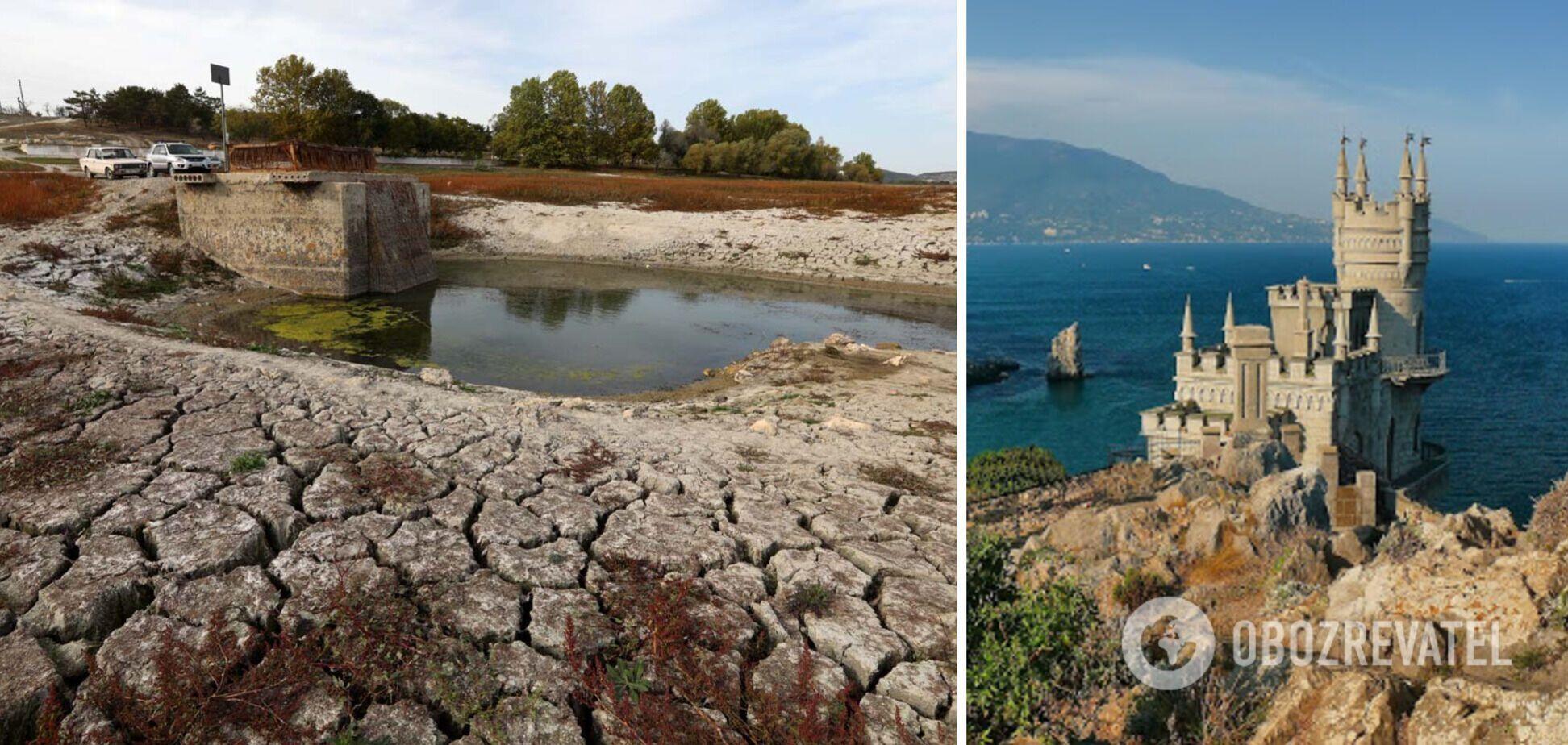 Окупанти назвали ціну опріснення води в Криму і терміни