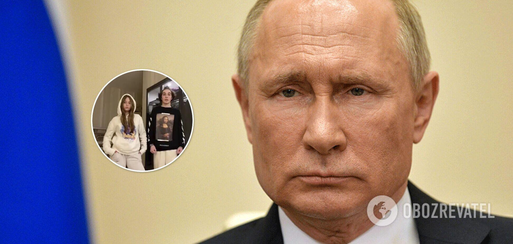 'Дочь' Путина развлекается с Робертом Скигиным