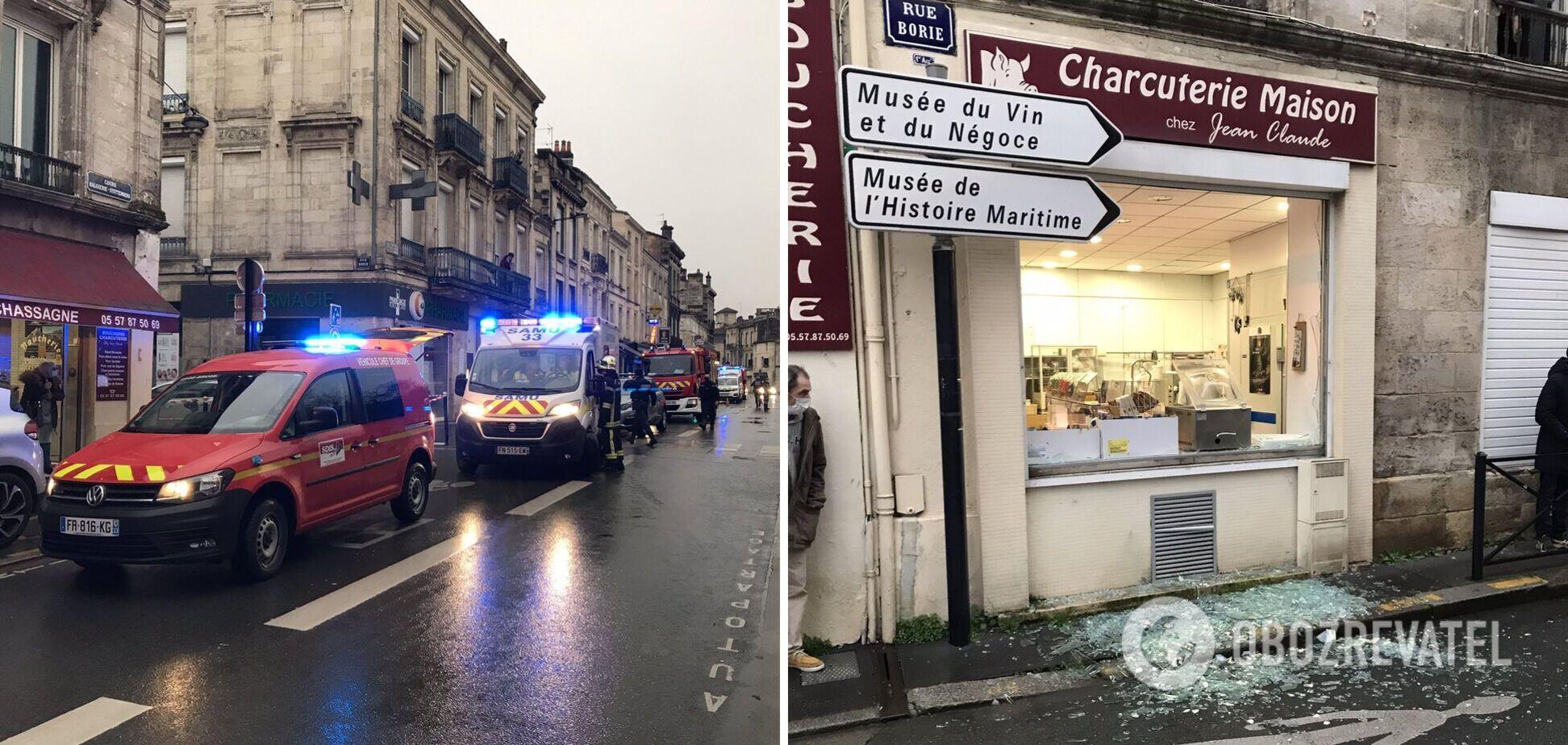 У Франції в житловому будинку прогримів вибух, є поранені. Відео
