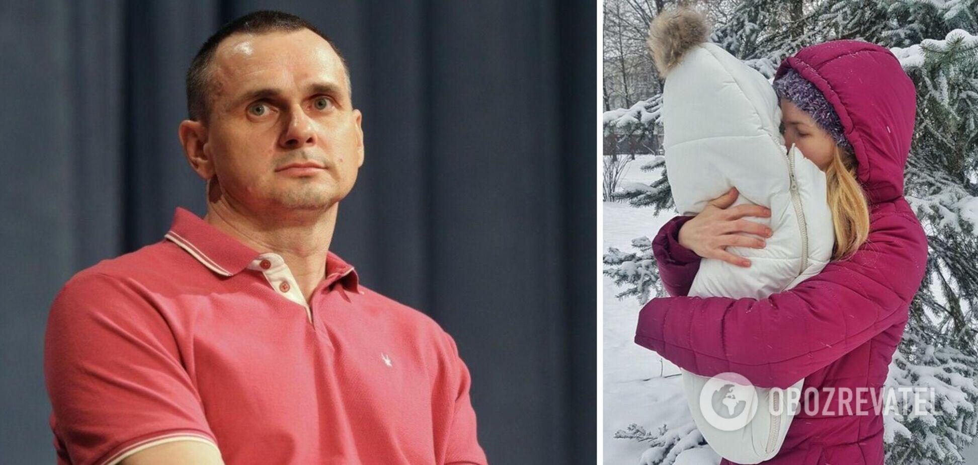 СМИ назвали имя матери дочки Сенцова