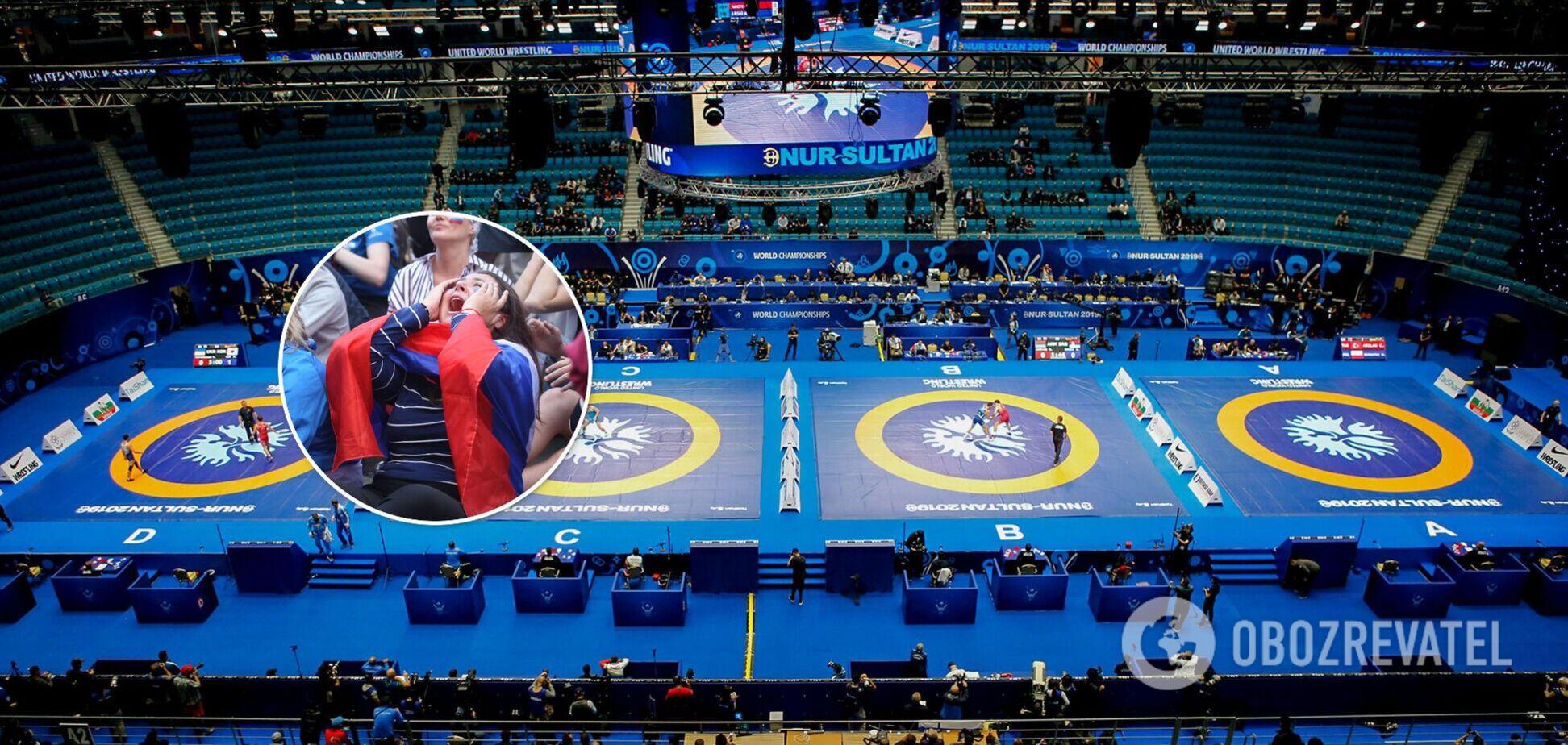 Чемпионат мира по спортивной борьбе 2022 года