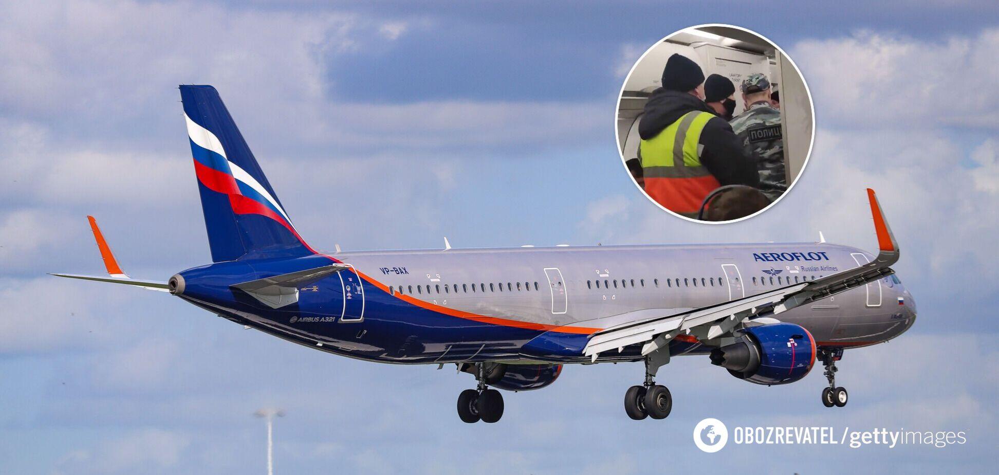 Літак в Росії