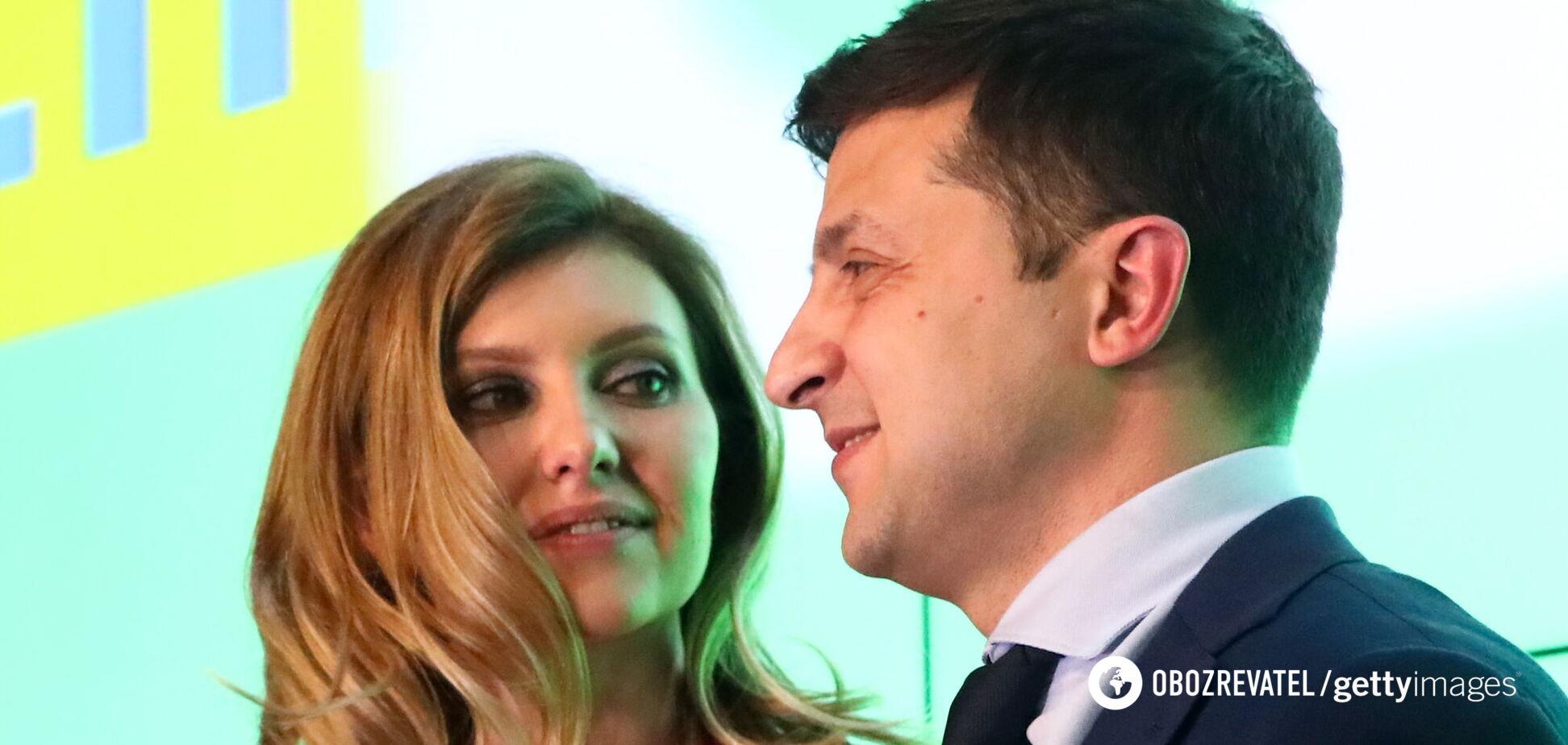 Зеленский трогательно поздравил жену с днем рождения