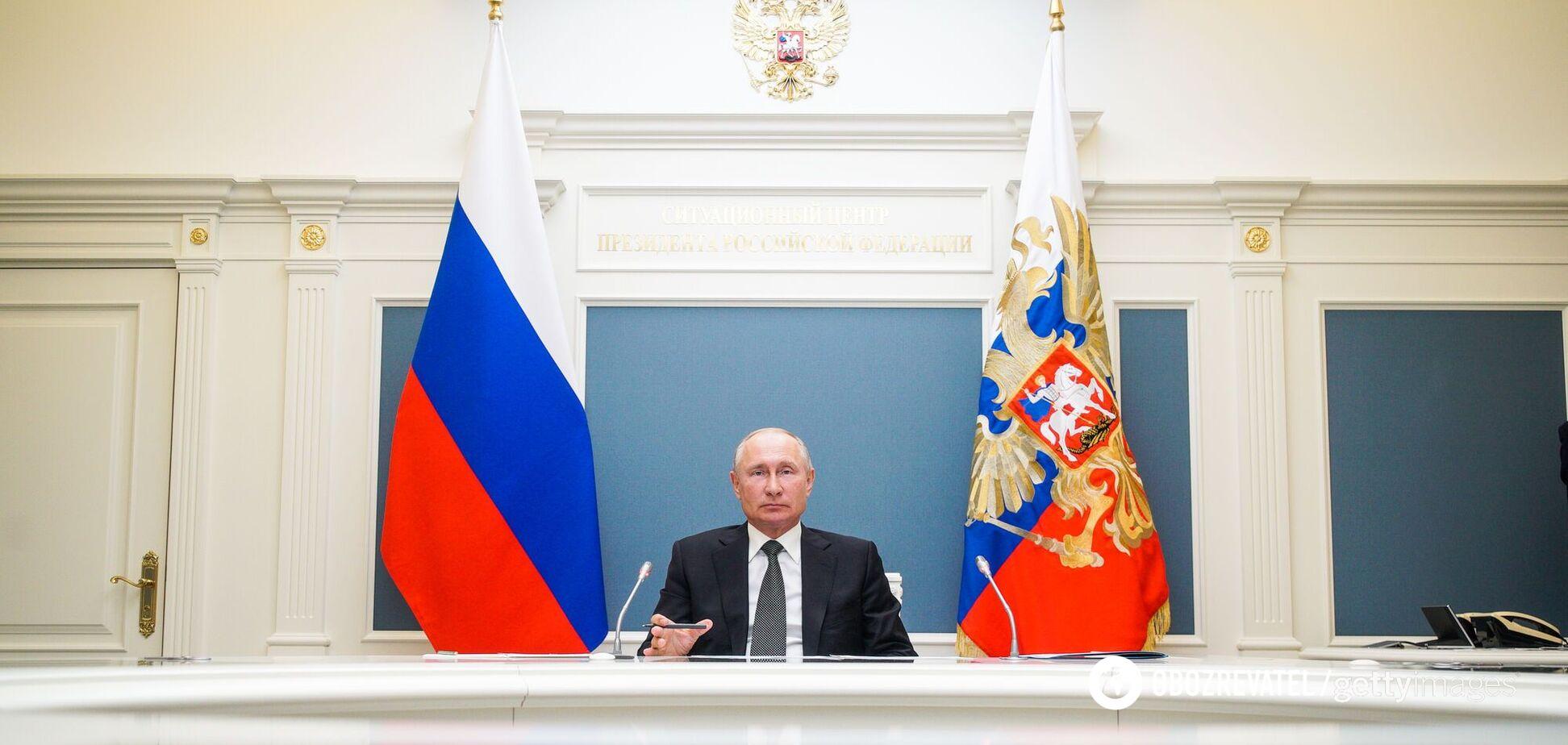 Владимир Путин находится у власти в России уже 20 лет
