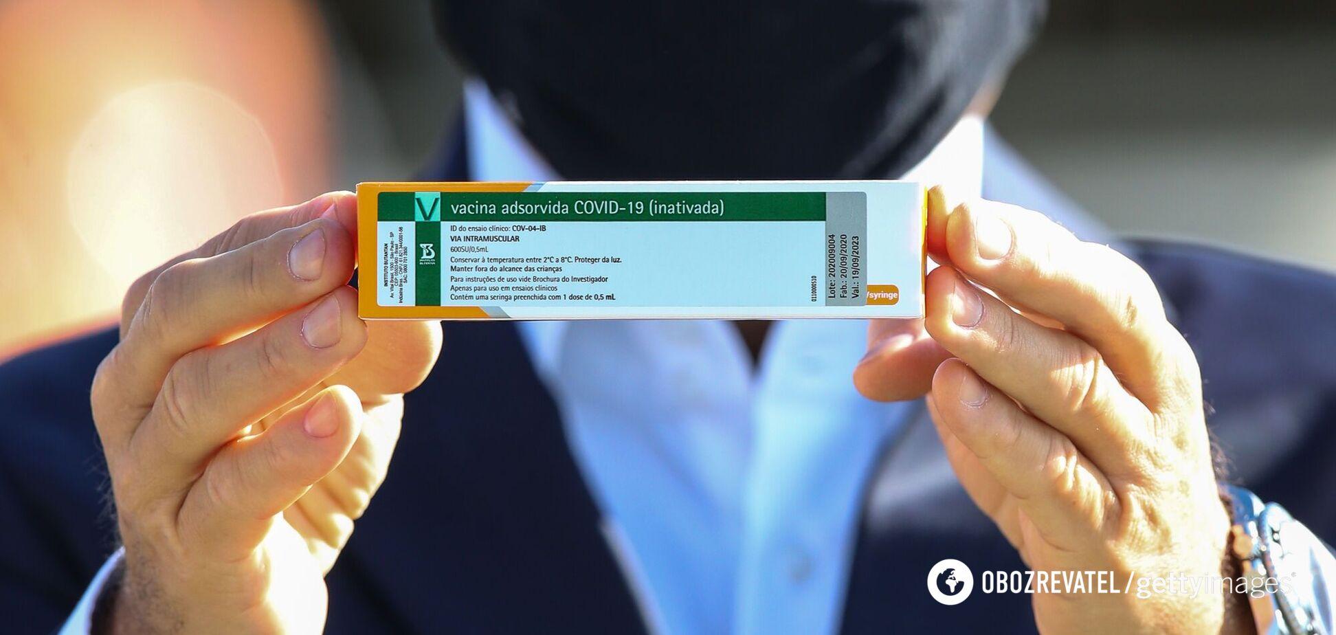 В Китае одобрили вакцину CoronaVac, которую получит Украина