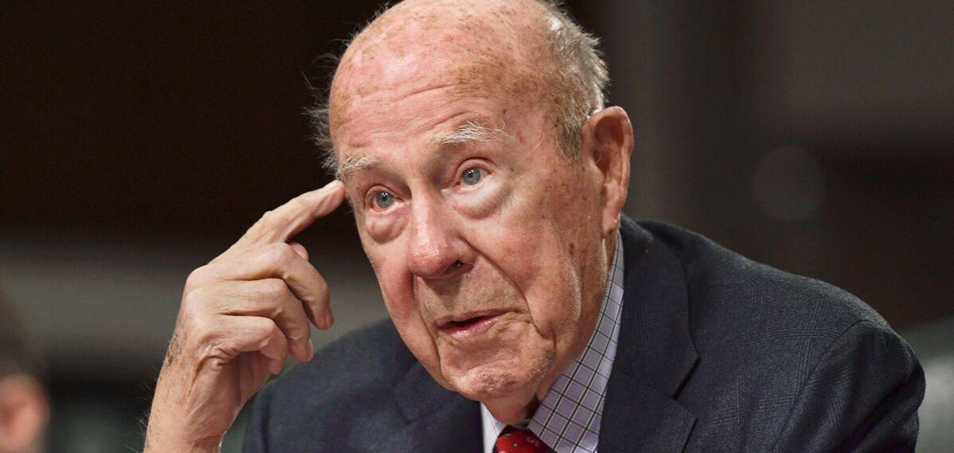 Умер бывший госсекретарь США Шульц