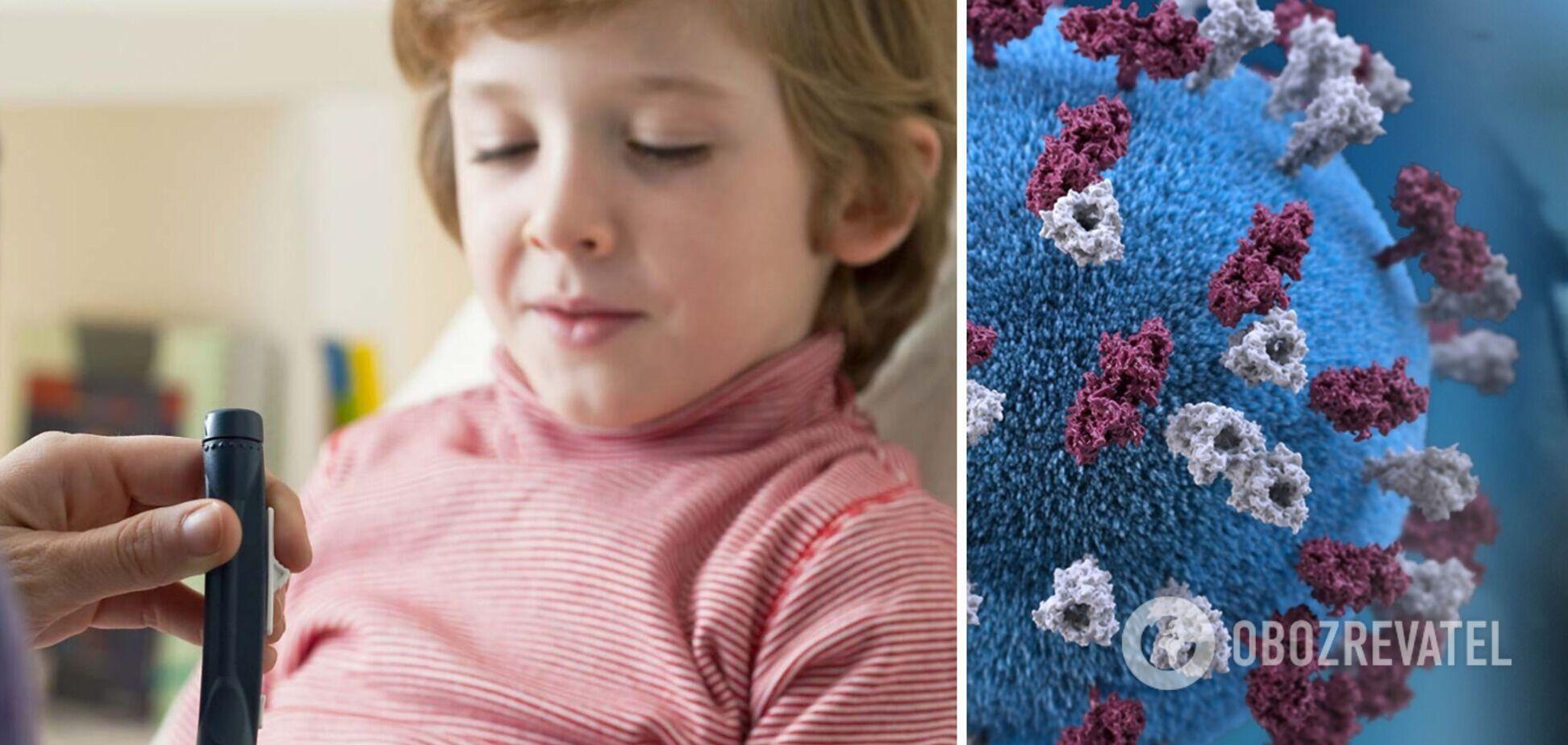 Лікар назвав небезпечні симптоми діабету після COVID-19 у дітей
