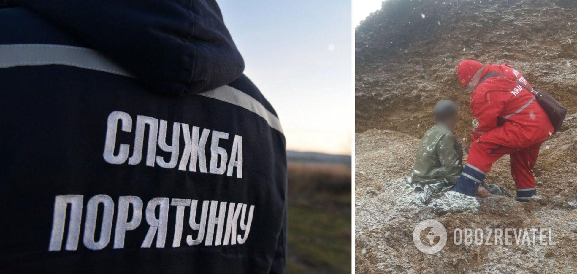 На Хмельнитчине погиб мужчина под завалами силоса