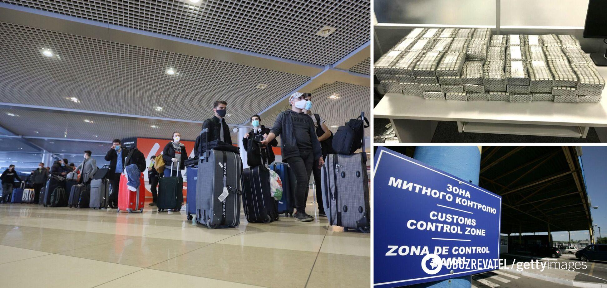 В 'Борисполе' задержали иностранца с двумя чемоданами таблеток-'наркотиков' на 2 млн грн