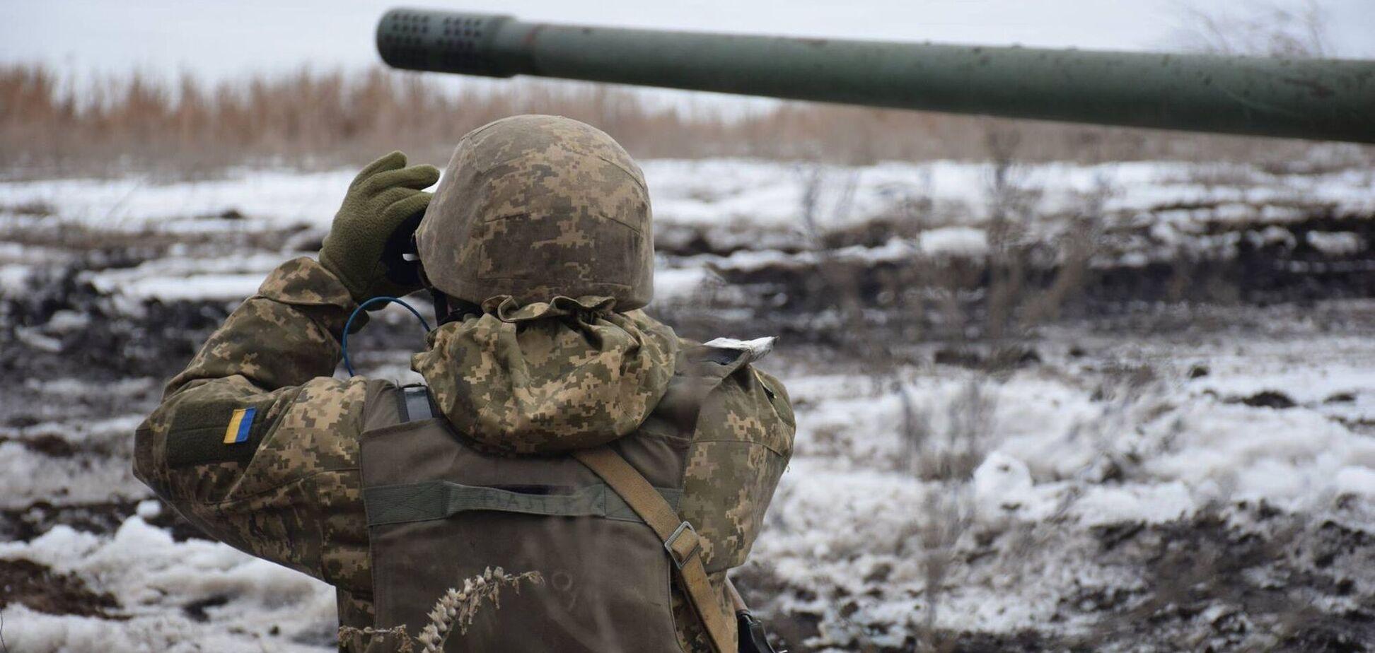 Вооруженные формирования РФ заминировали дистанционно участок Донбасса – штаб ООС