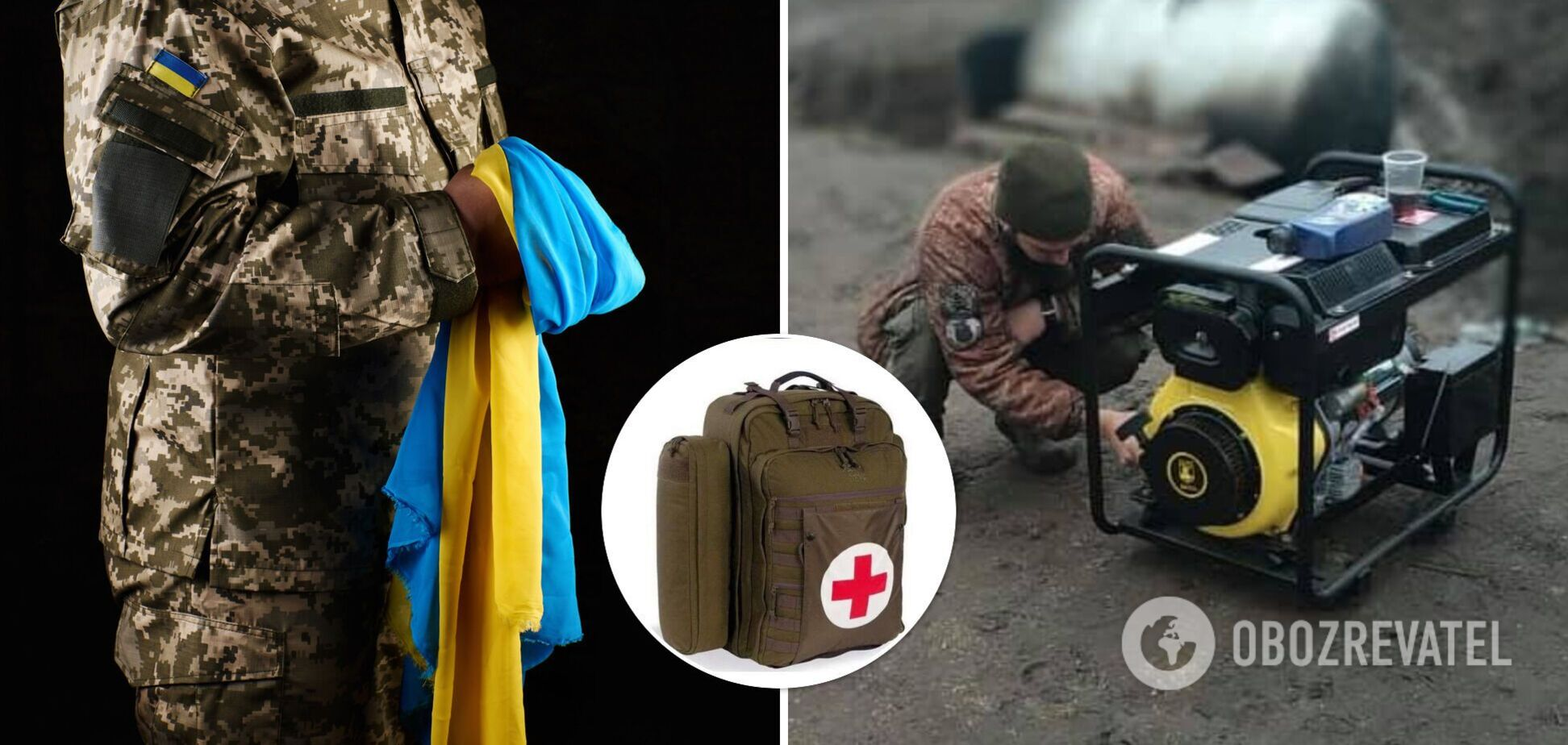 На передовую нужны рюкзаки для медиков. Прошу помочь
