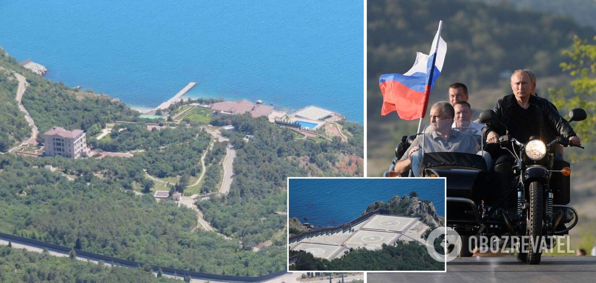 Журналисты показали 'крымскую дачу' Путина