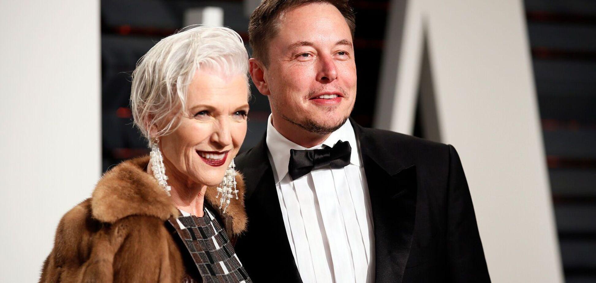 Мей Маск, мати Ілона Маска, поділилася зворушливим фото