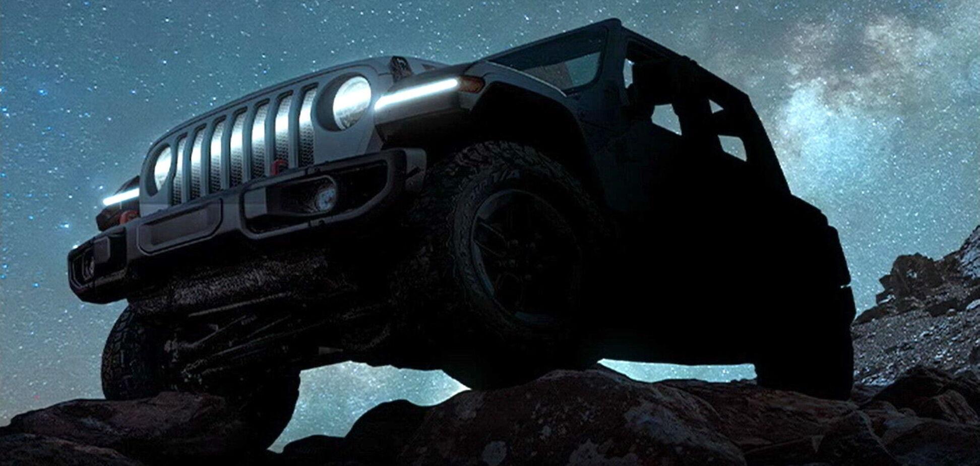 Jeep Wrangler станет электромобилем