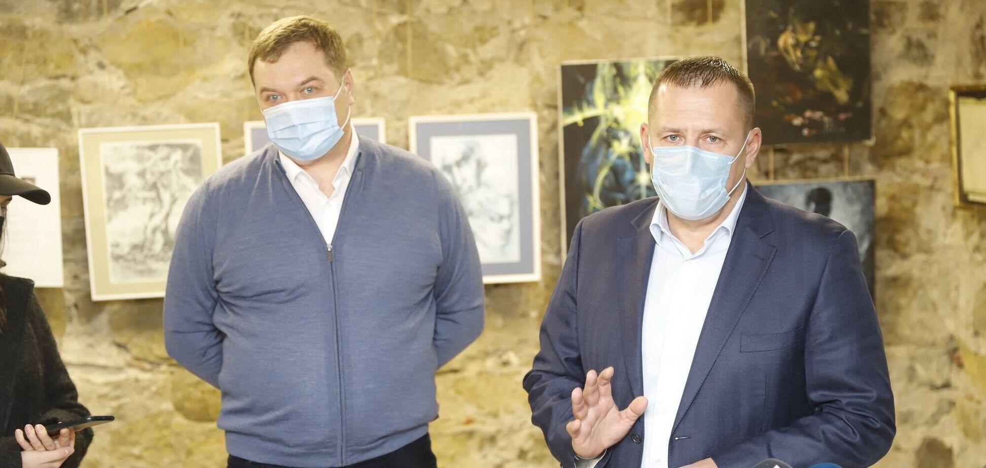 Борис Филатов принял участие в открытии 'Музея детства' в Днепре
