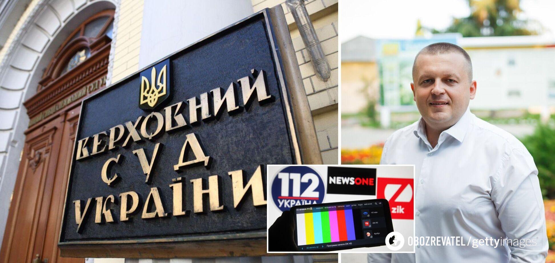 Автор скарги на санкції Зеленського проти каналів Козака подав ще один позов