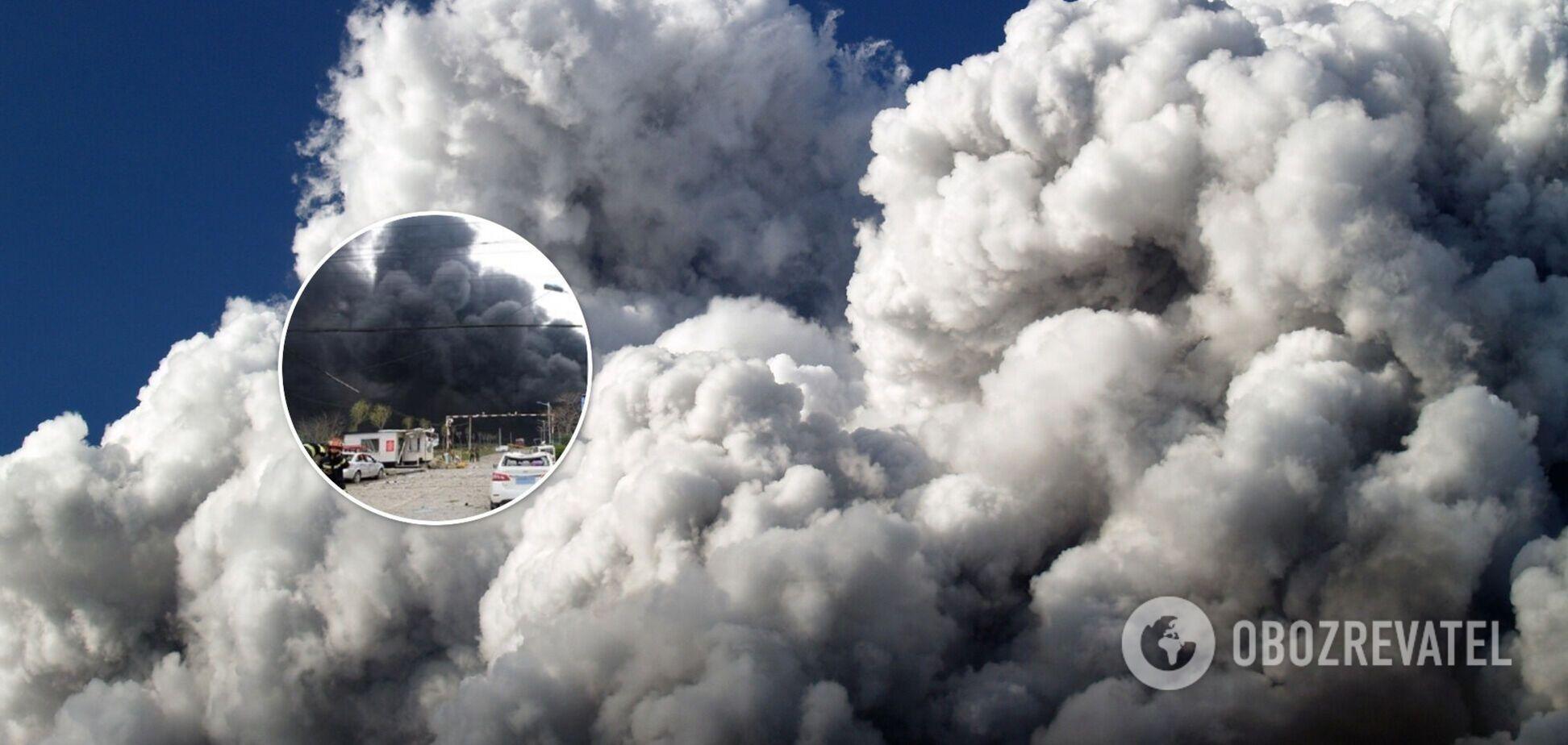 Взрыв на фармзаводе в Китае