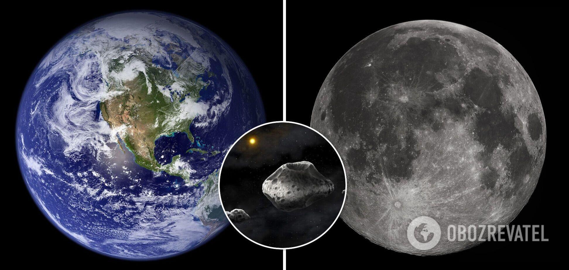 К Земле на расстояние, меньше чем до Луны, подлетит астероид