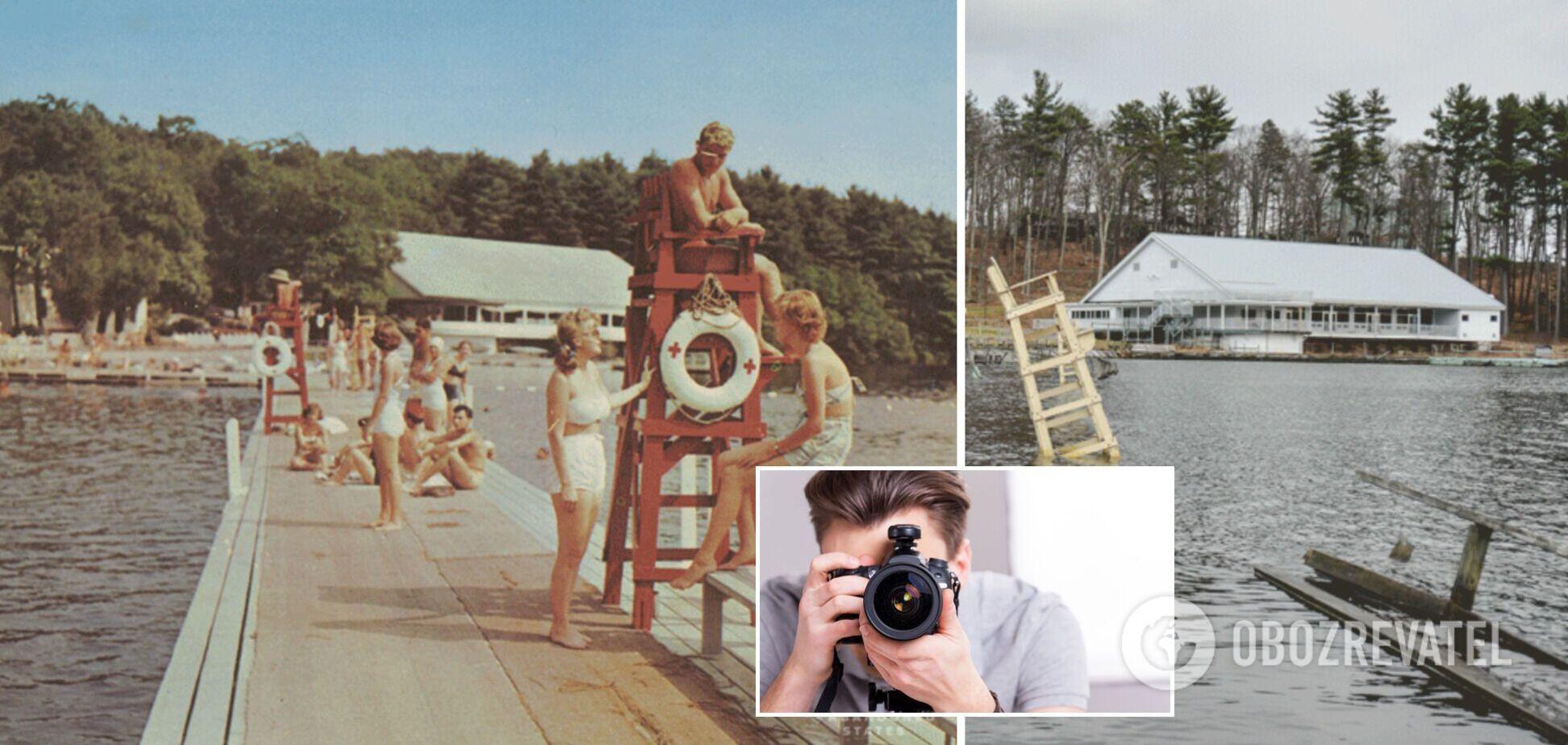 В сети показали роскошные места отдыха в 60-х и что с ними стало спустя полвека. Фото