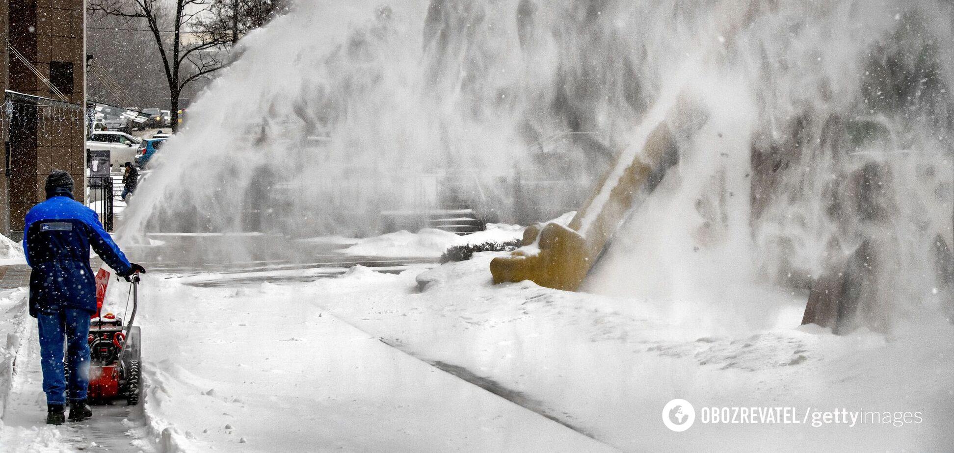 Як звільнити Київ від снігу: поради небайдужого киянина