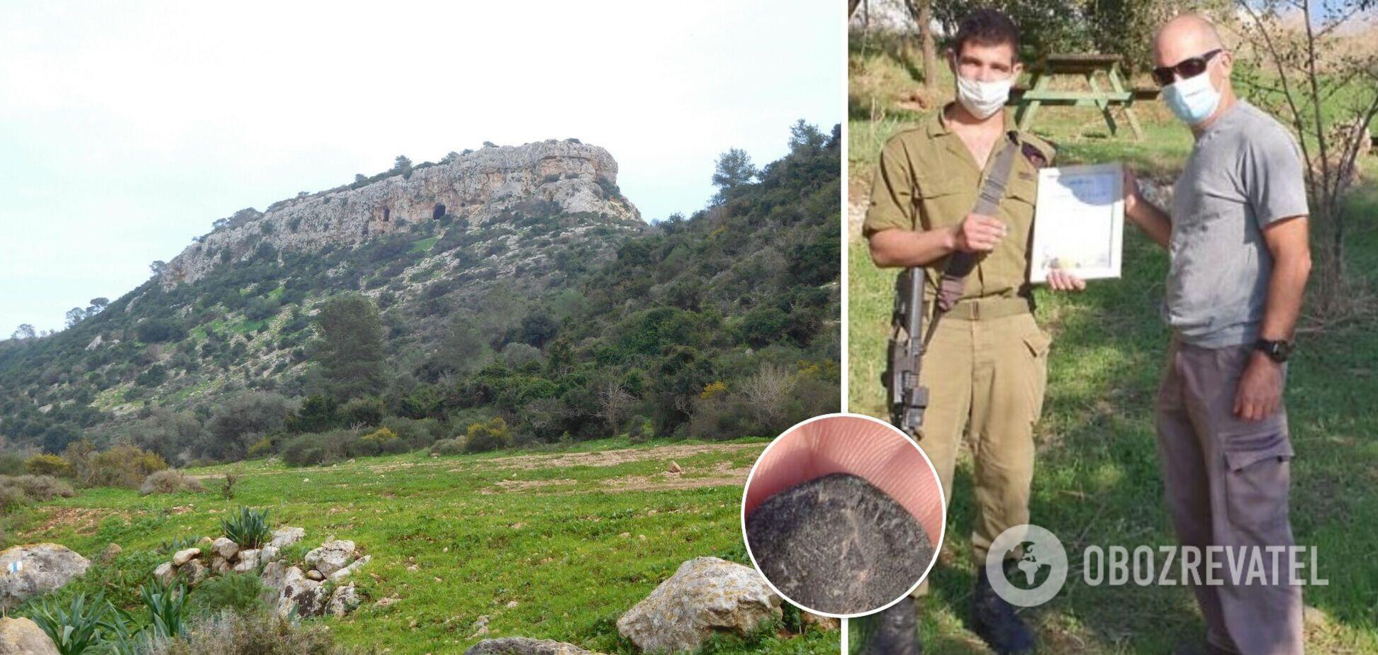 В Израиле солдат нашел редкую 1800-летнюю монету с римским императором. Фото