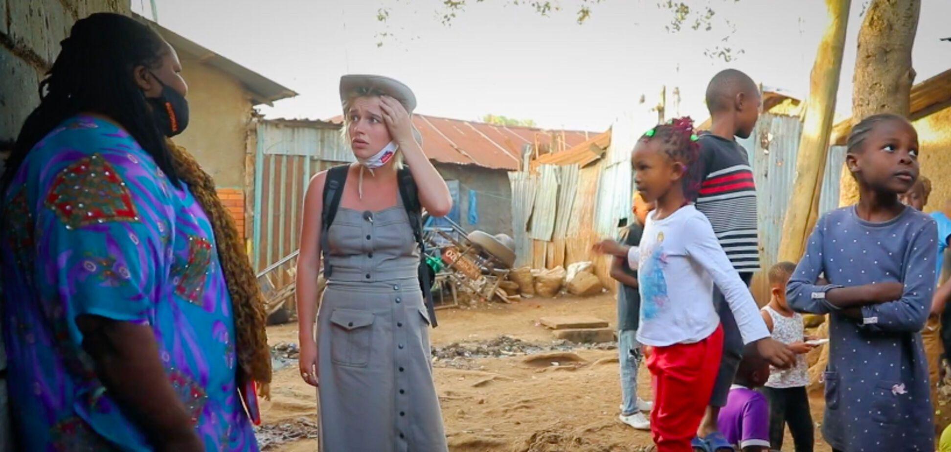 Ведущая 'Орла и Решки' прогулялась по опасному району Найроби