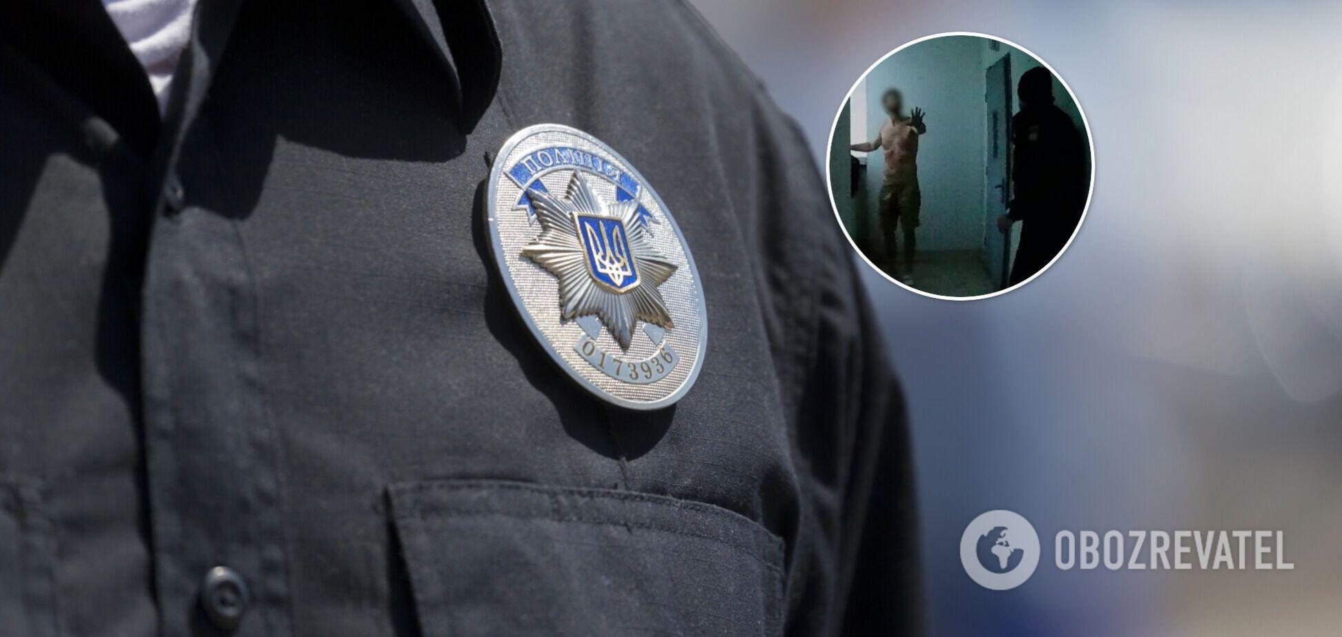 В Киеве полицейские спасли мужчину