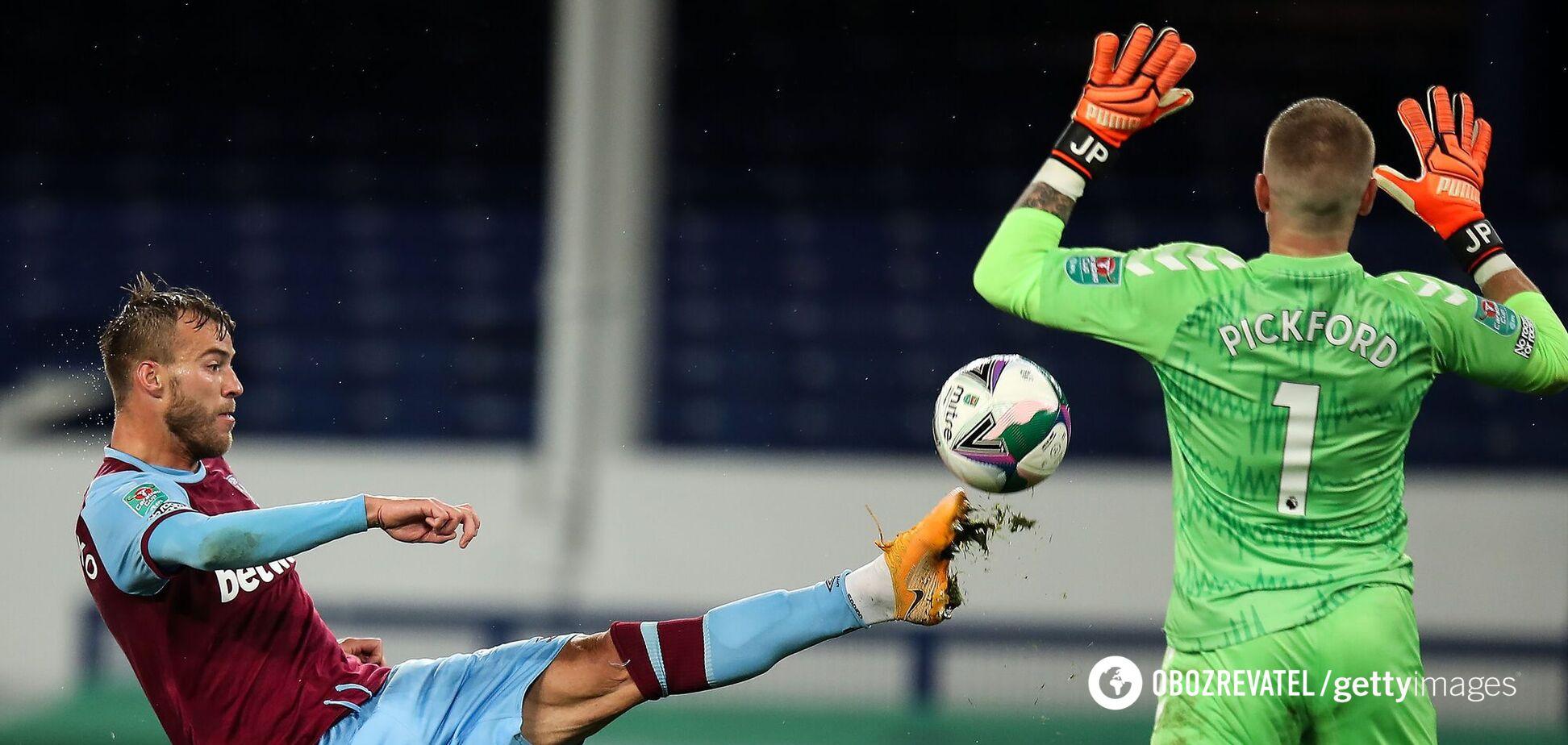 Андрей Ярмоленко в матче против 'Эвертона'