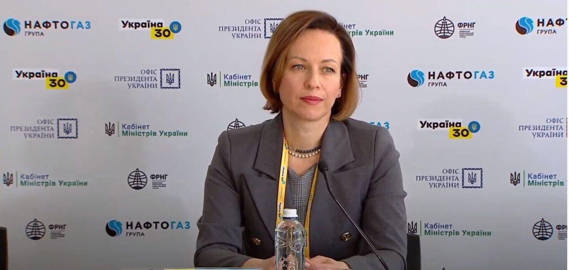 Міністерка соціальної політики Марина Лазебна