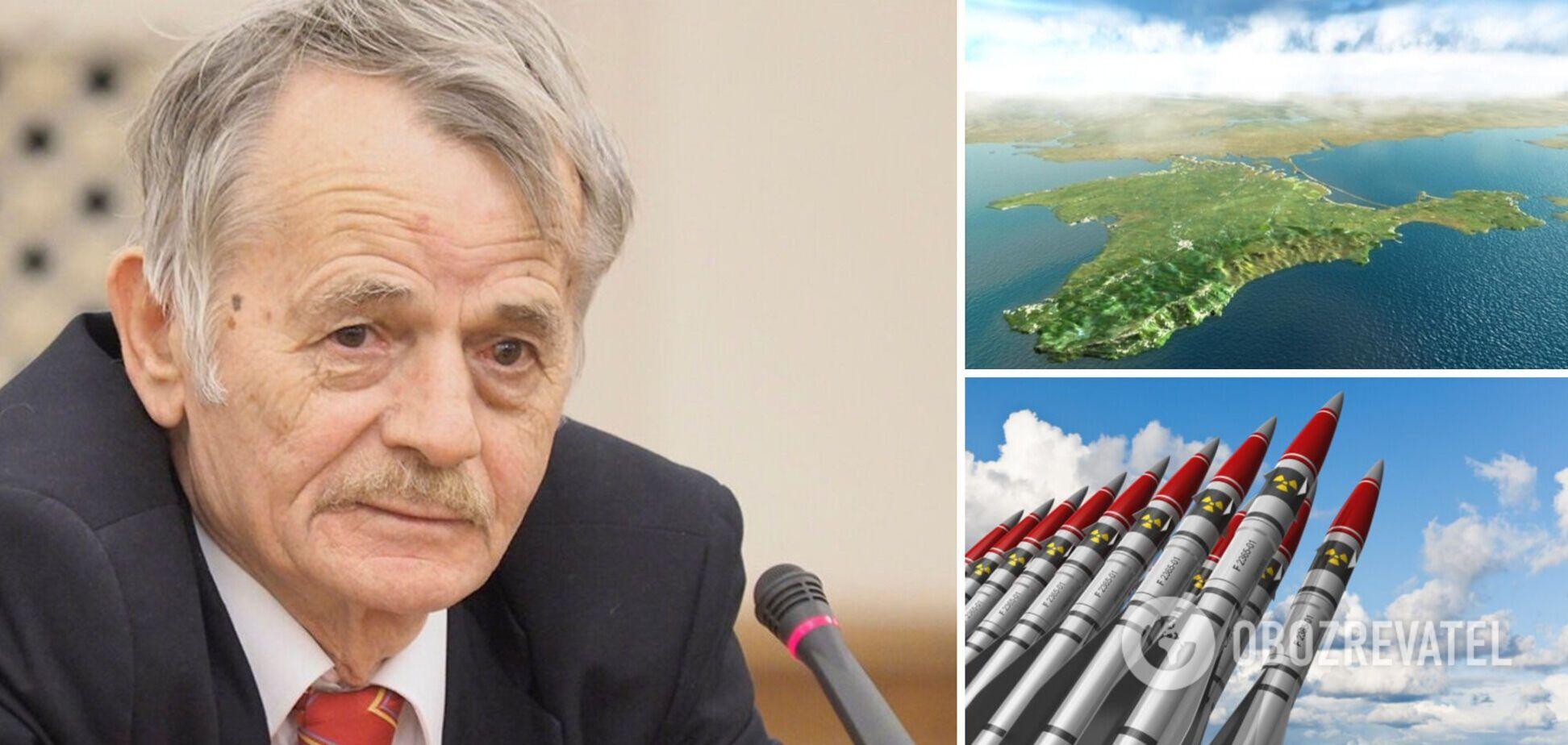Лідер кримських татар Мустафа Джемілєв