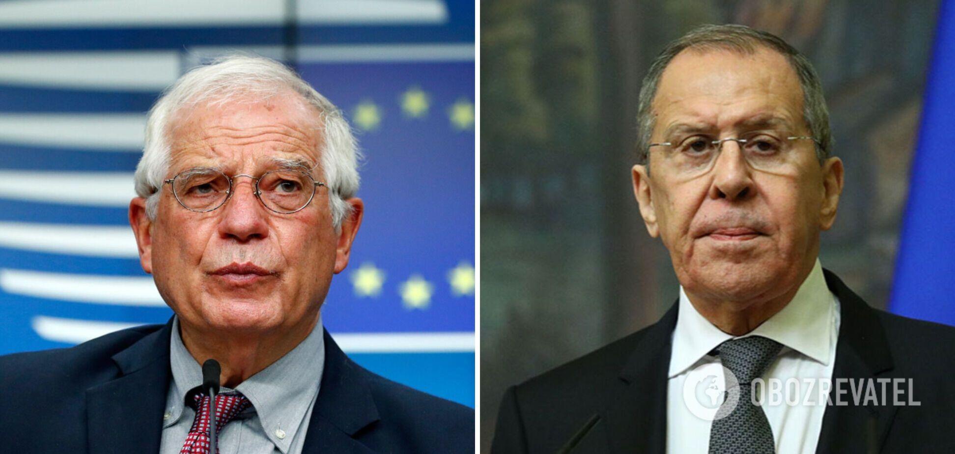 Глава дипломатії ЄС розкрив деталі скандальної зустрічі з Лавровим